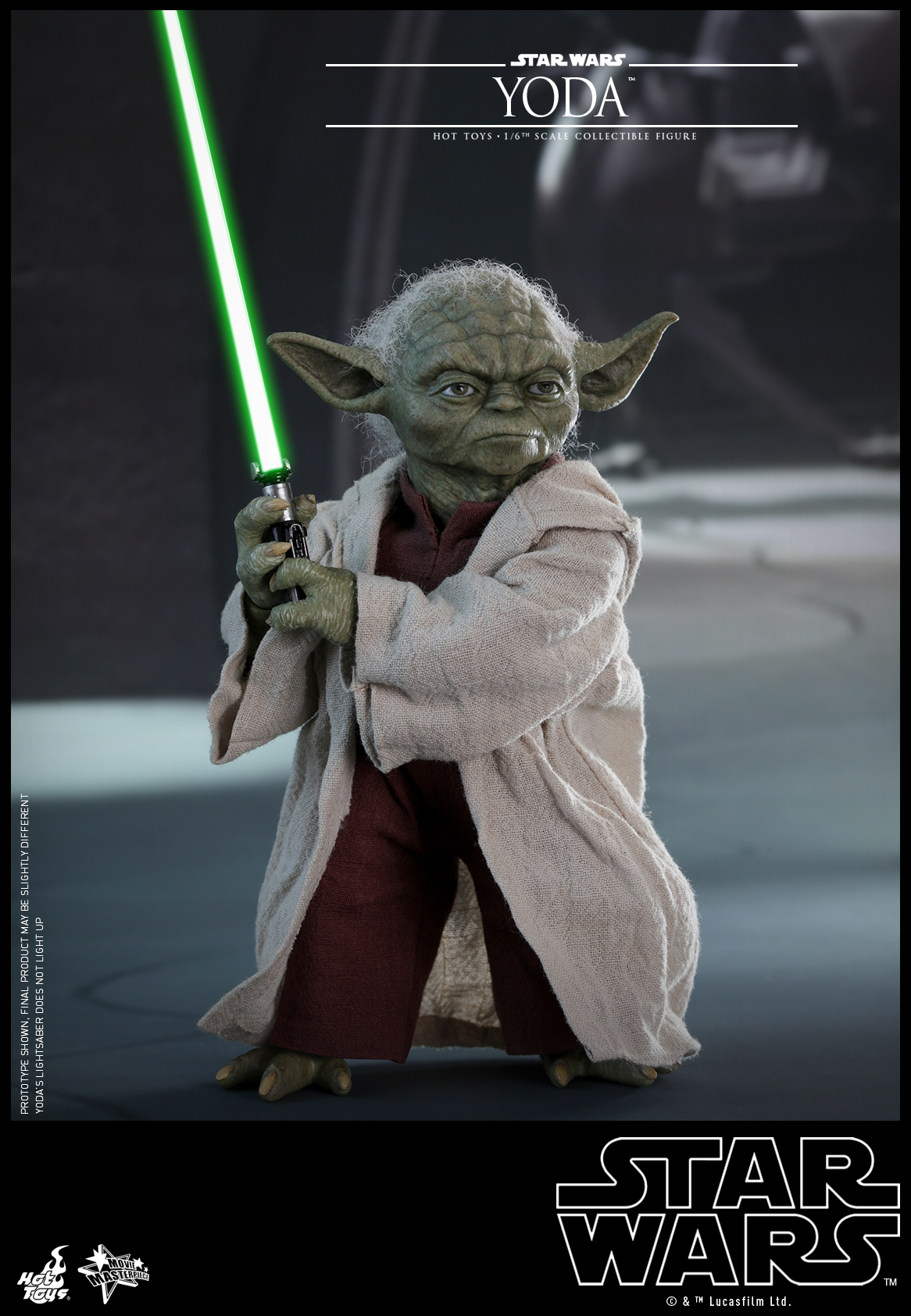Hot Toys - Star Wars Episode II Attack of the Clones - Yoda Collectible Figure_PR4
