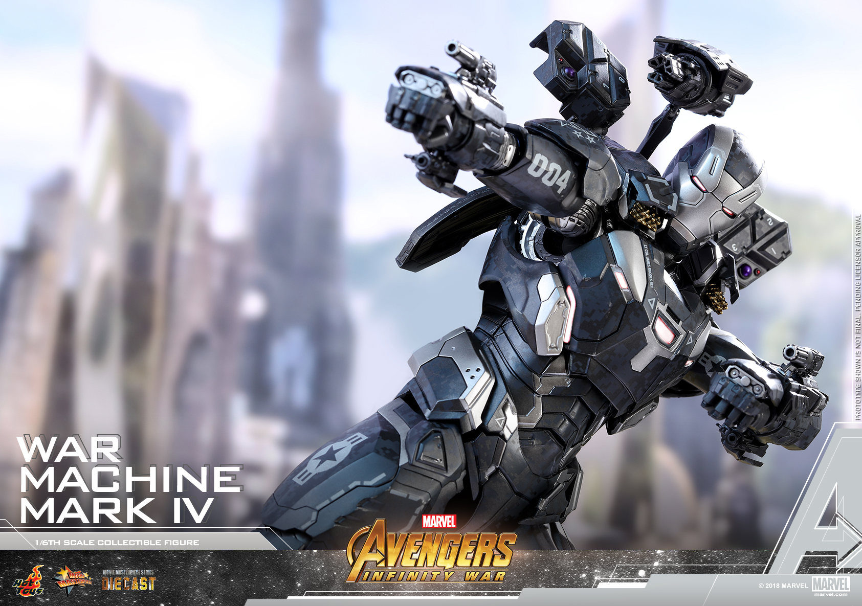 Hot Toys - Avengers 3 - War Machine Mark IV (Diecast) collectible figure_PR12
