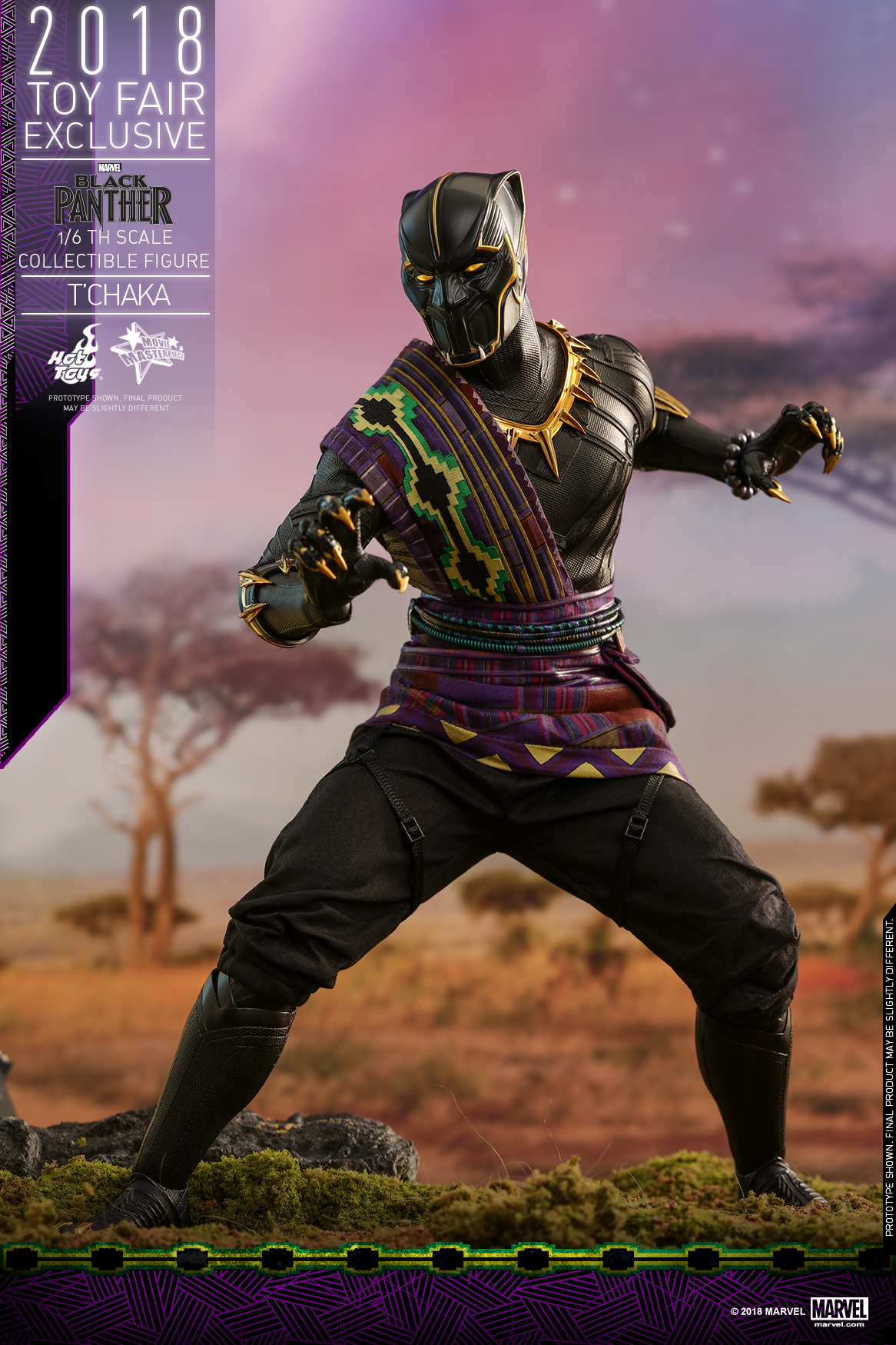 Hot Toys - Black Panther - T' Chaka collectible figure_PR5