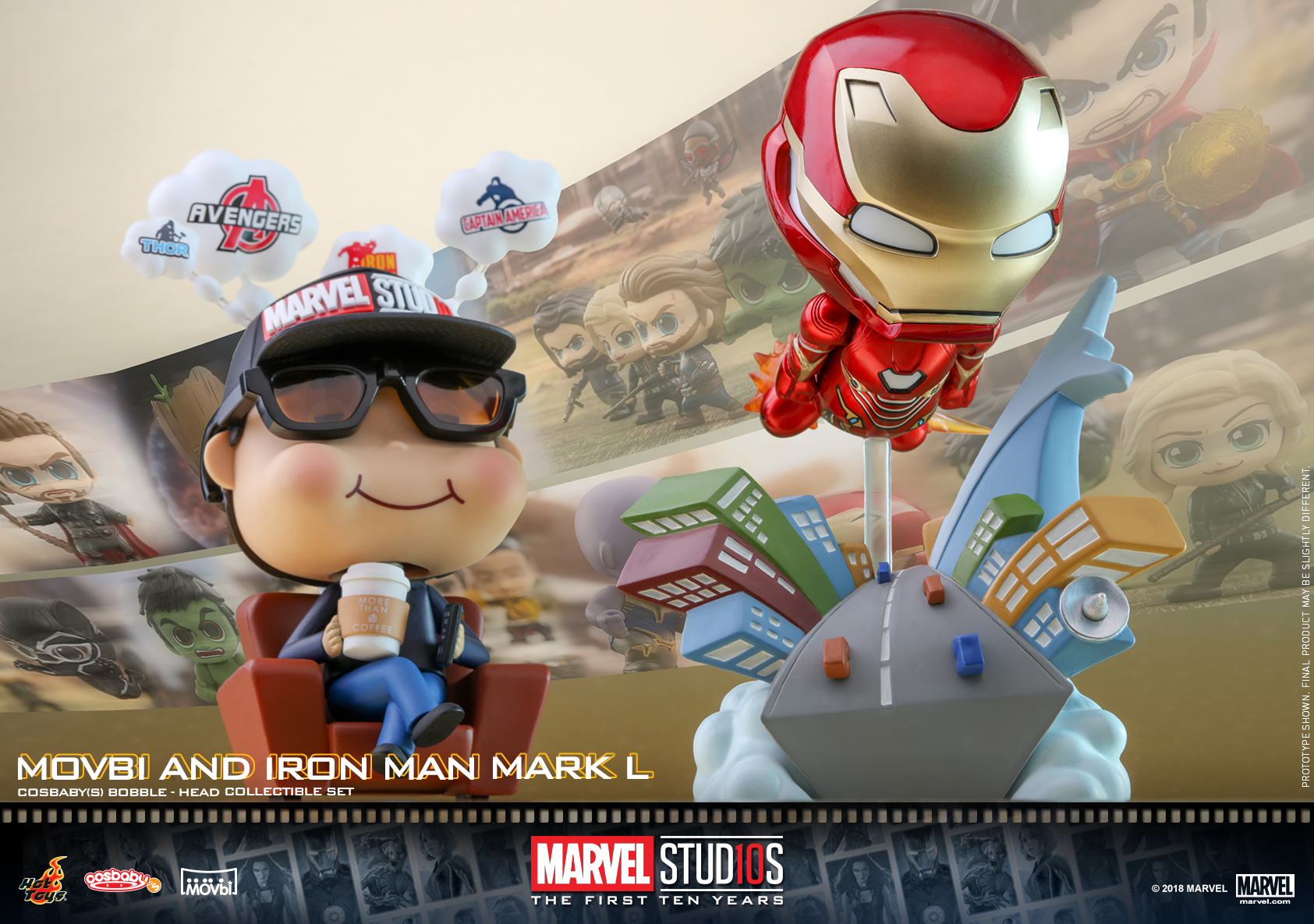 Hot Toys - Marvel 10 - Movbi & Iron Man Mark L Cosbaby_PR1