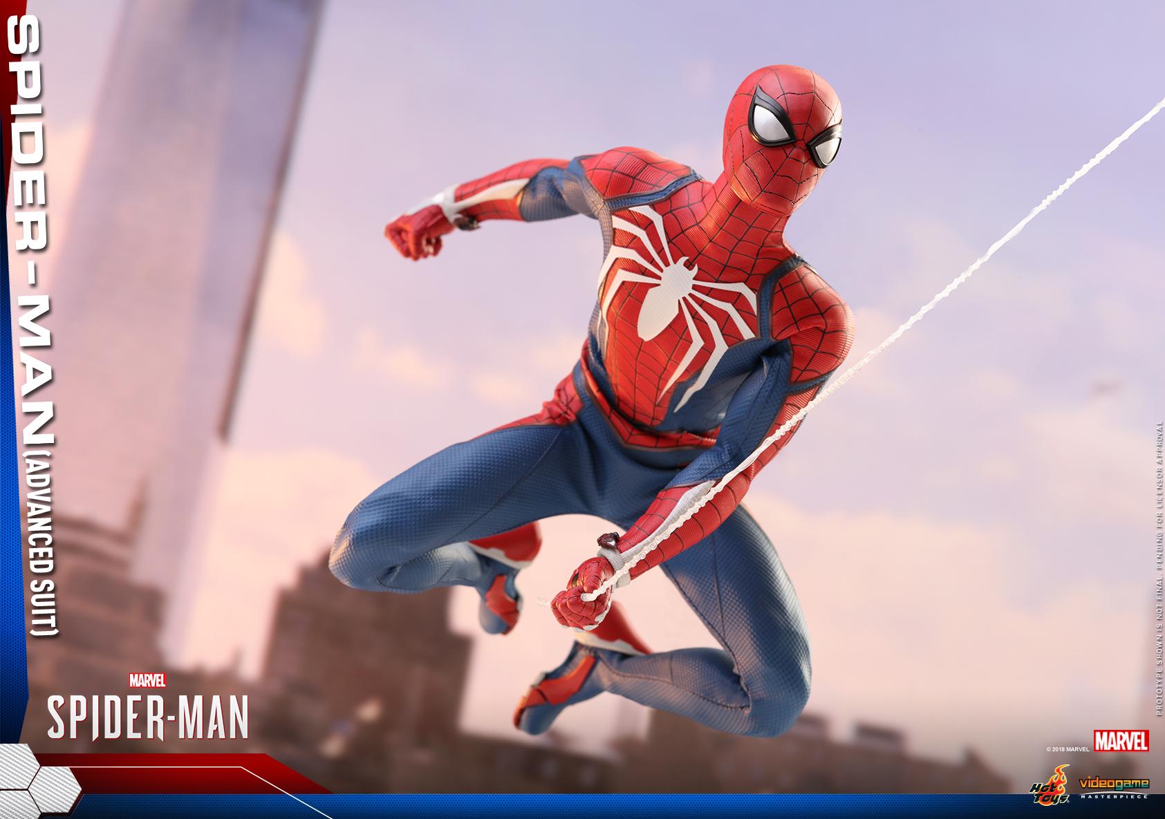 Hot Toys - Marvel Spider-Man - Spider-Man (Advanced Suit) collectible figure_PR12