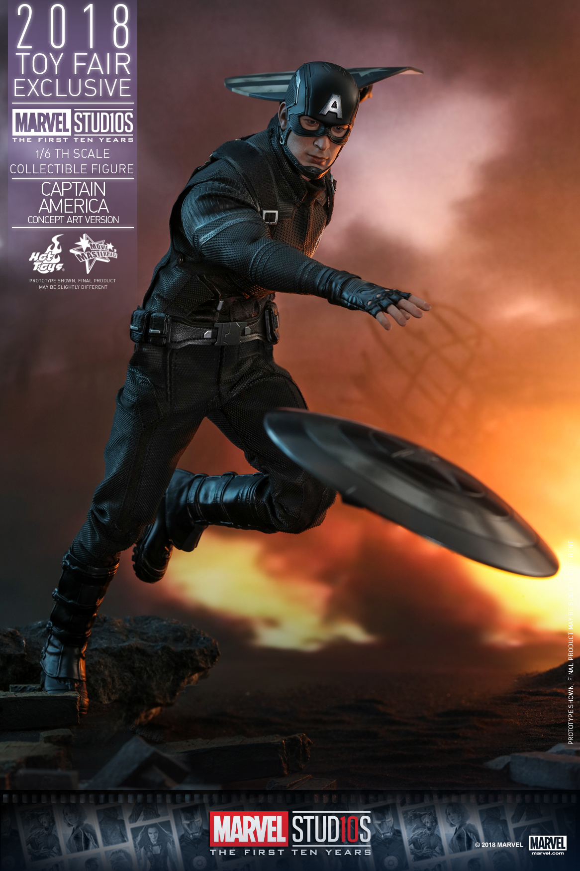 Hot Toys - Marvel Studios 10 - Captain America (Concept Art Version) collectible figure_PR5