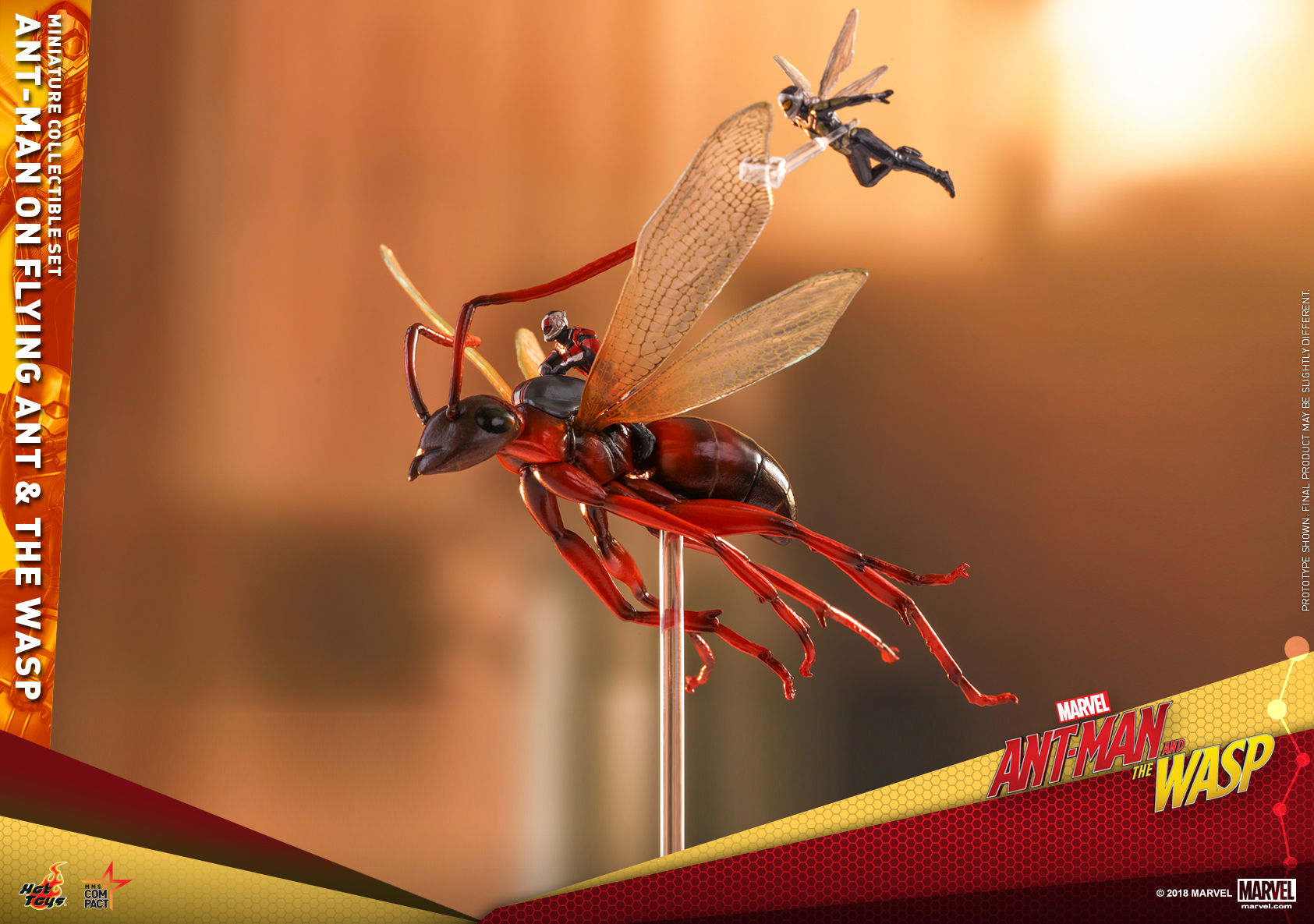 Hot Toys - Ant-Man 2 - Ant-Man on Flying Ant & the Wasp miniature collectible set_PR3