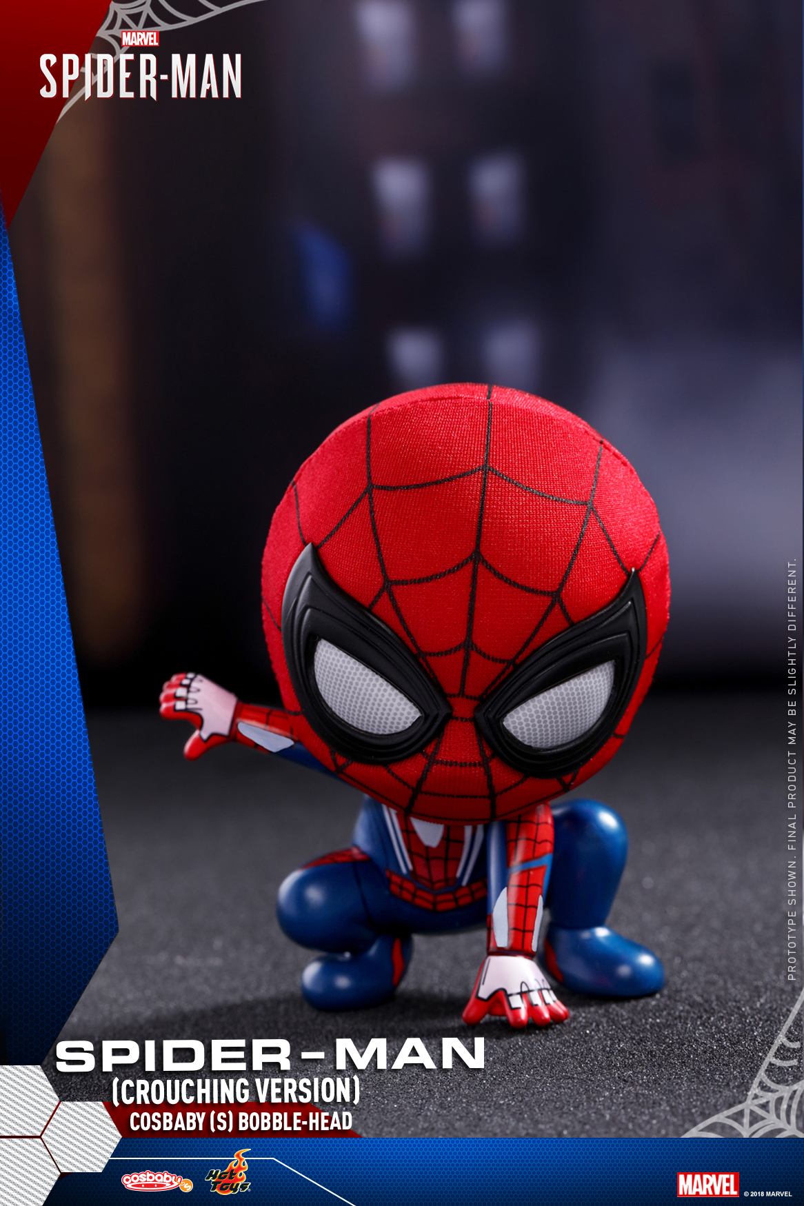 Hot Toys - Marvel Spider-Man - Spider-Man (Crouching Version) Cosbaby_PR1