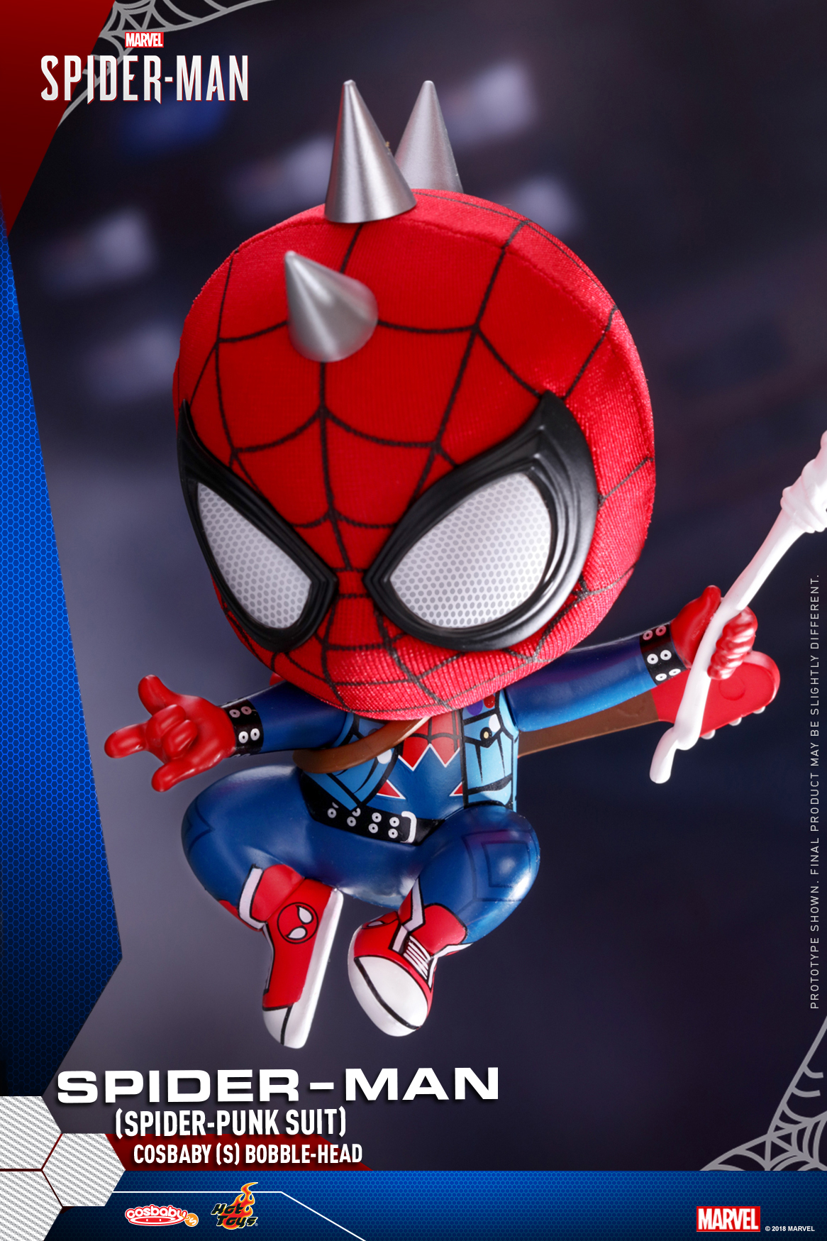Hot Toys - Marvel Spider-Man - Spider-Man (Spider-Punk Suit) Cosbaby_PR1