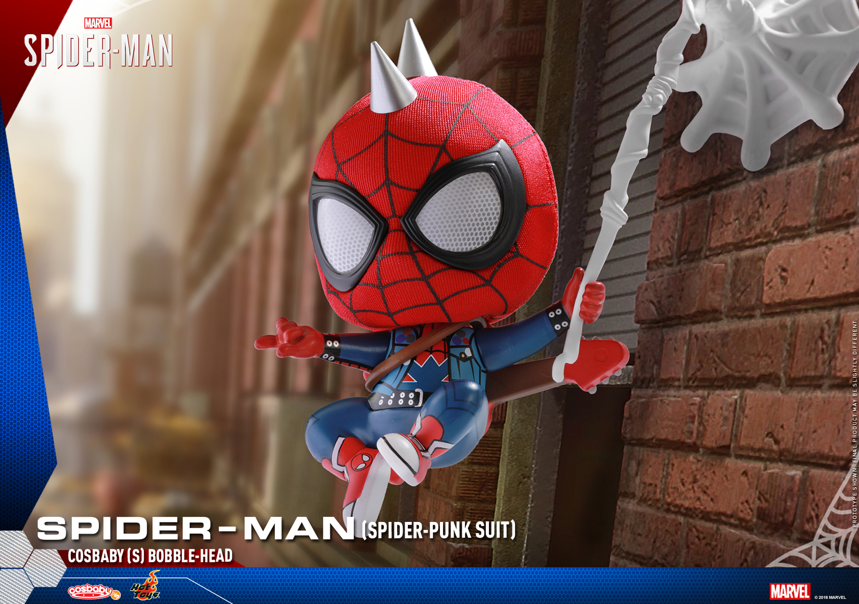 Hot Toys - Marvel Spider-Man - Spider-Man (Spider-Punk Suit) Cosbaby_PR2