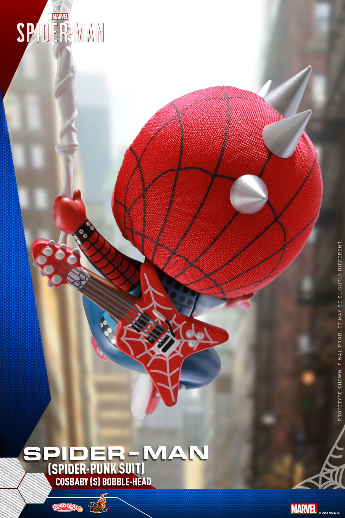 Hot Toys - Marvel Spider-Man - Spider-Man (Spider-Punk Suit) Cosbaby_PR4