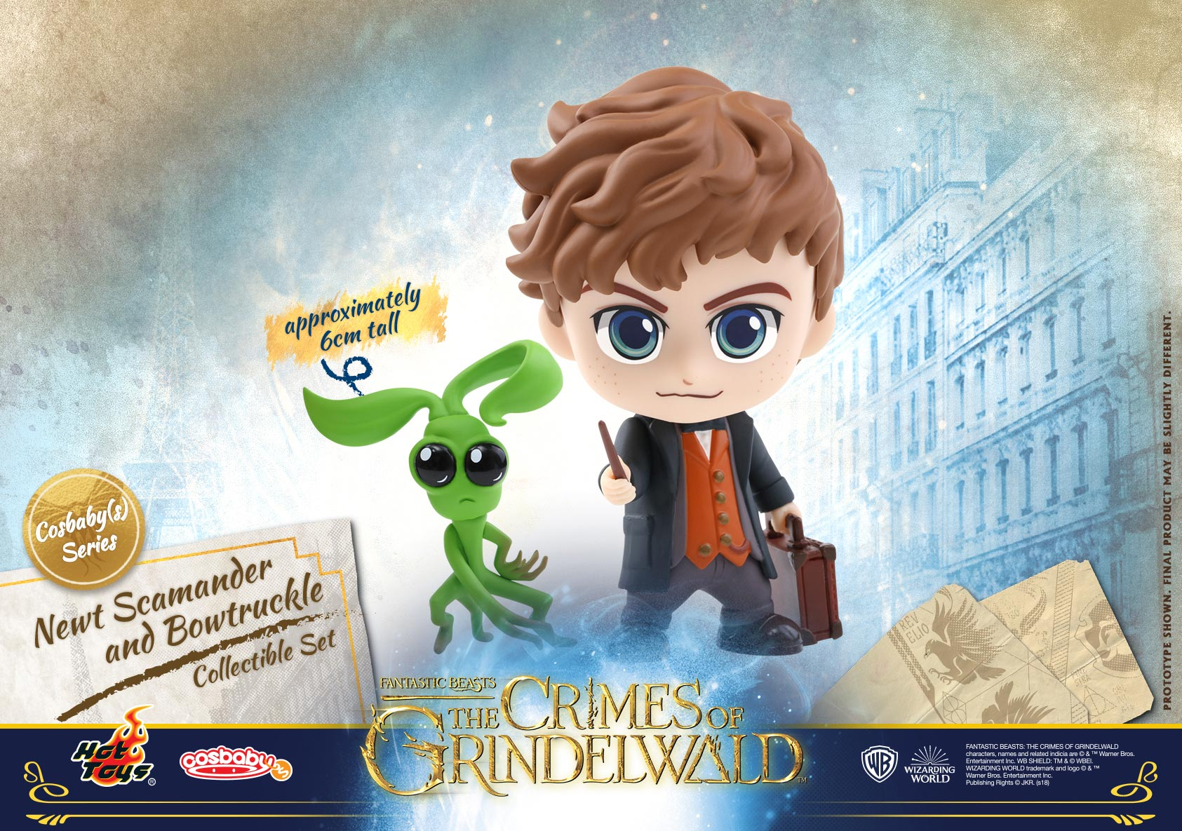 Hot-Toys---Fantastic-Beasts-2---Newt-Scamander-and-Bowtruckle-Cosbaby-(S)Collectible-Set_PR1