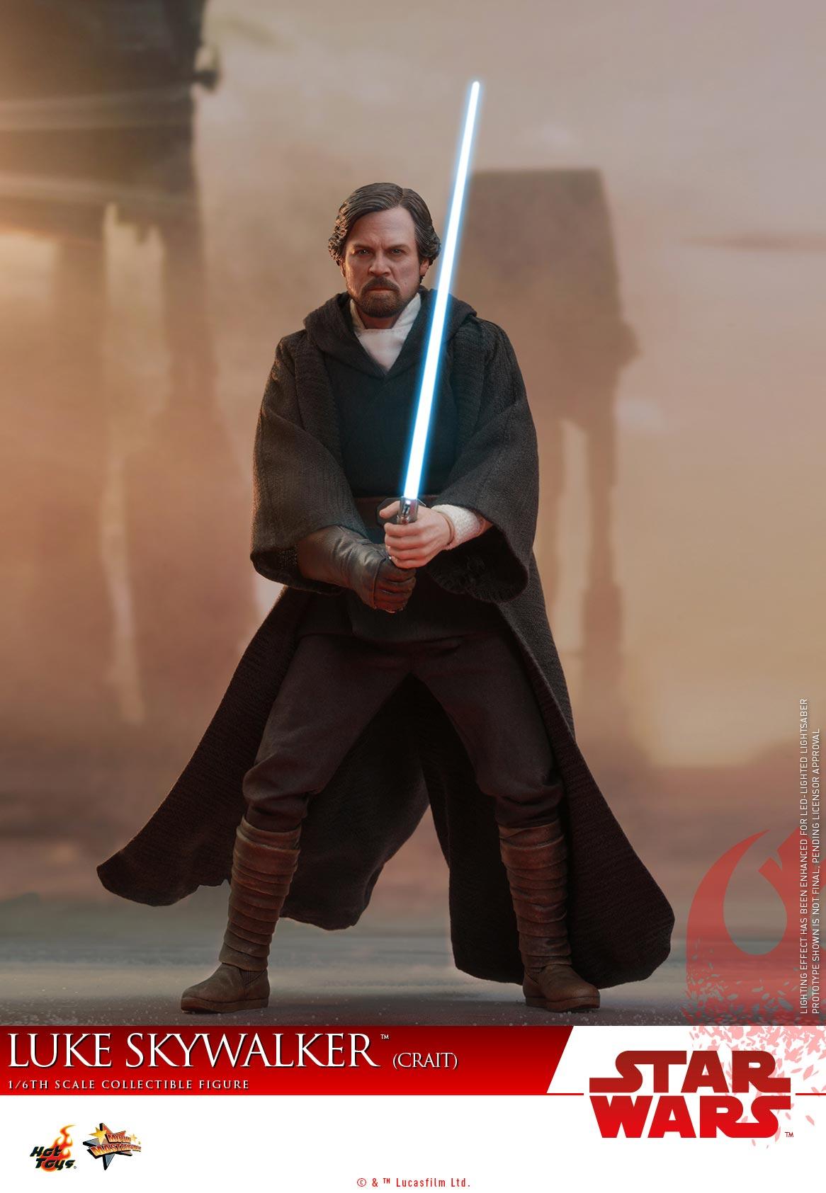 Hot Toys - SWTLJ - Luke Skywalker (Crait) collectible figure_PR (12)