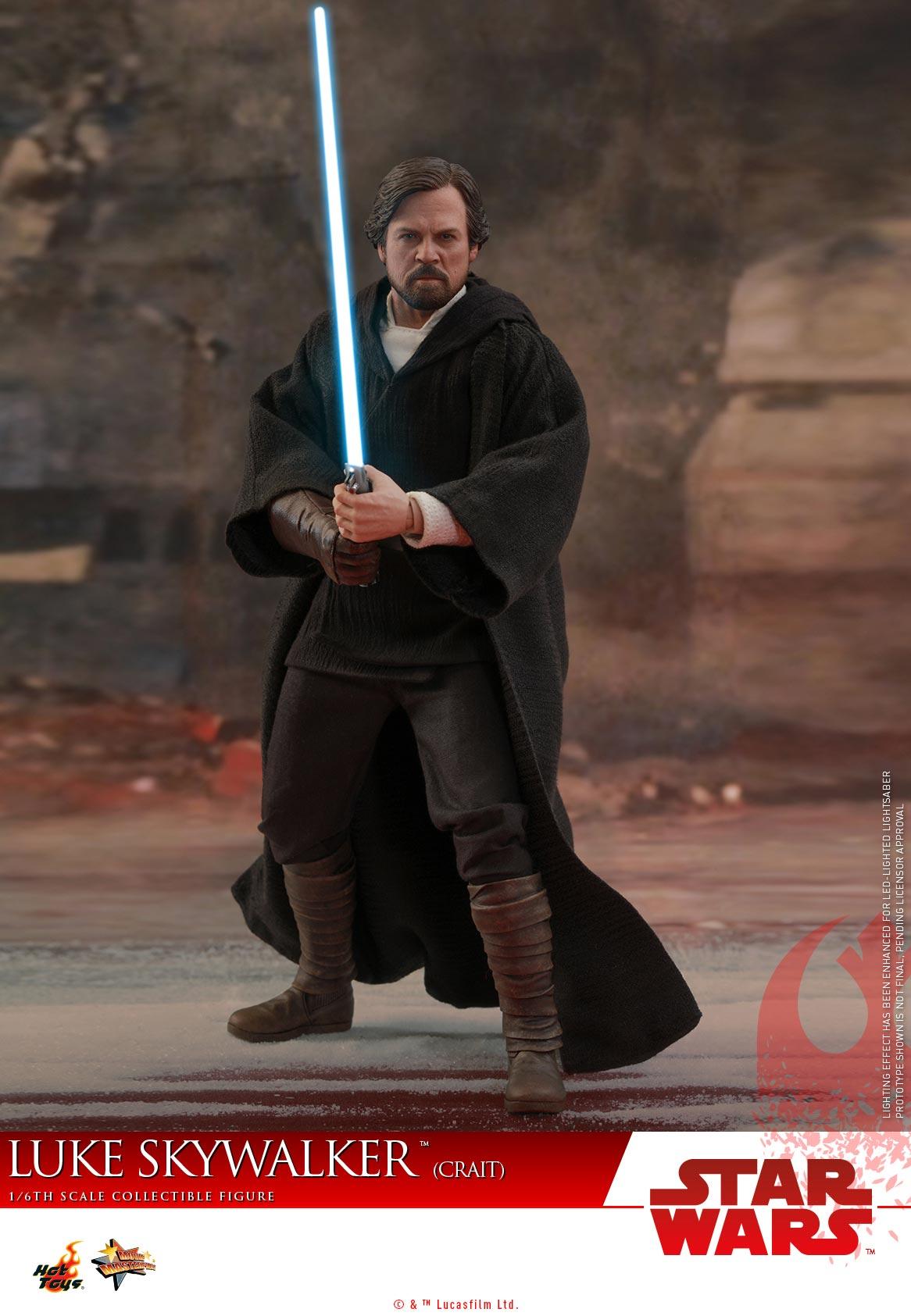 Hot Toys - SWTLJ - Luke Skywalker (Crait) collectible figure_PR (15)