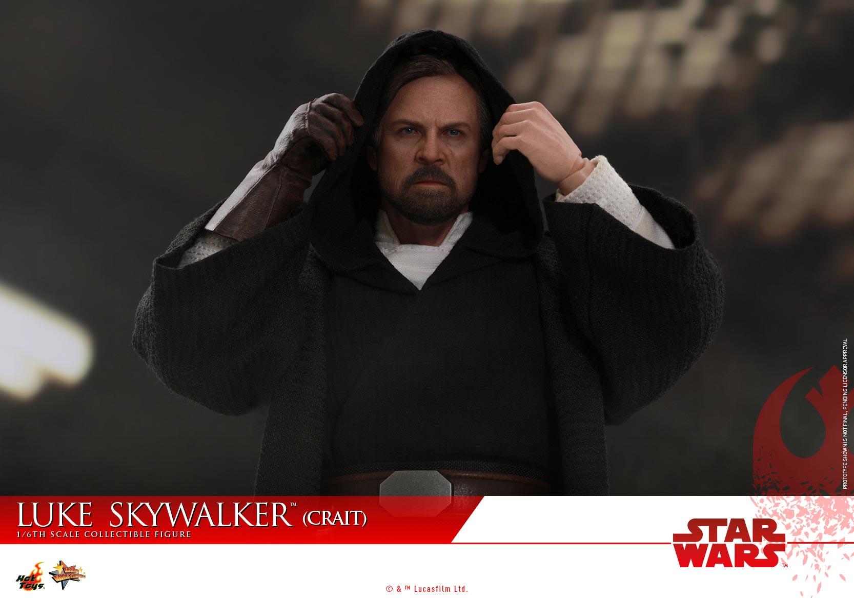 Hot Toys - SWTLJ - Luke Skywalker (Crait) collectible figure_PR (2)