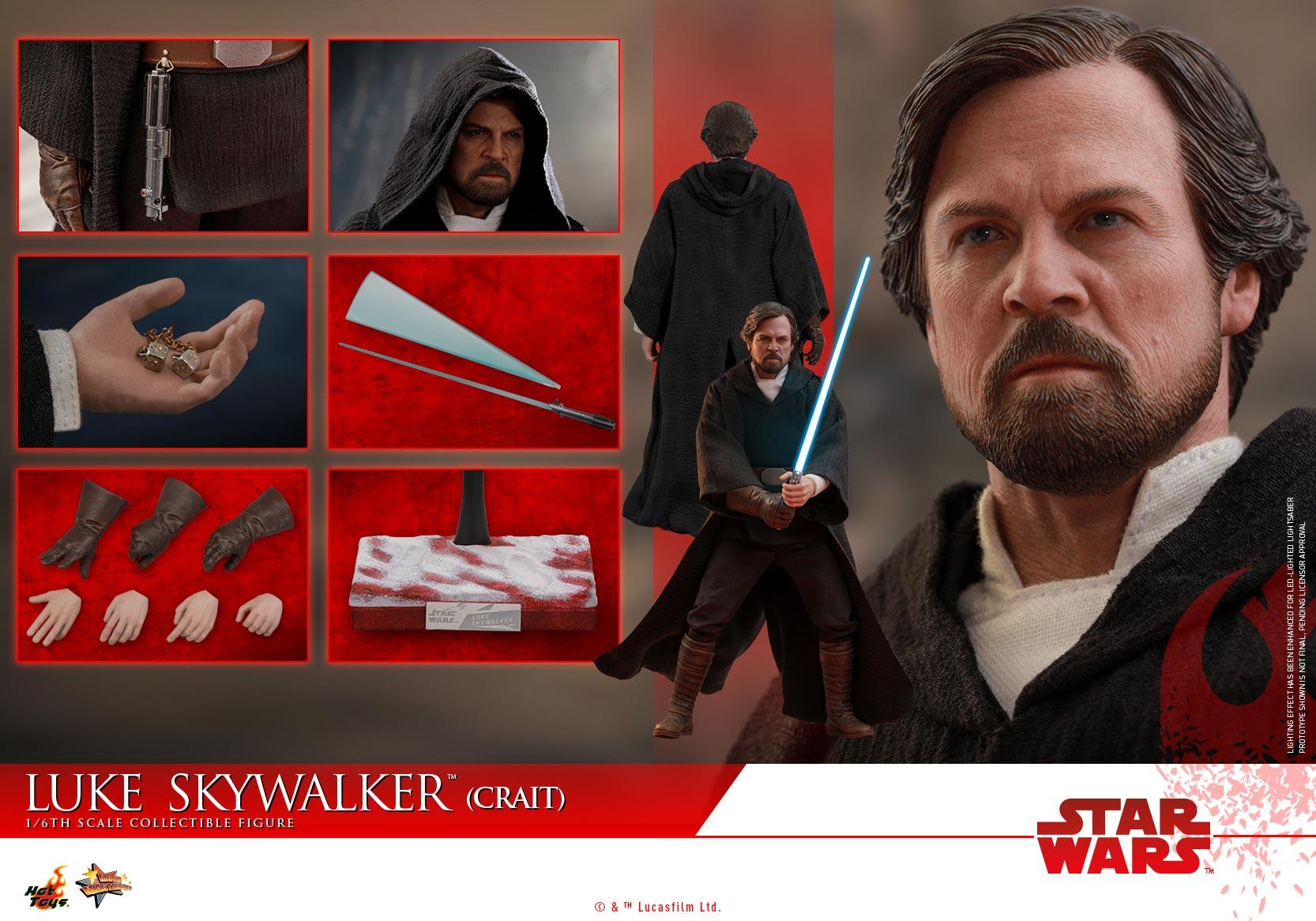 Hot Toys - SWTLJ - Luke Skywalker (Crait) collectible figure_PR (22)