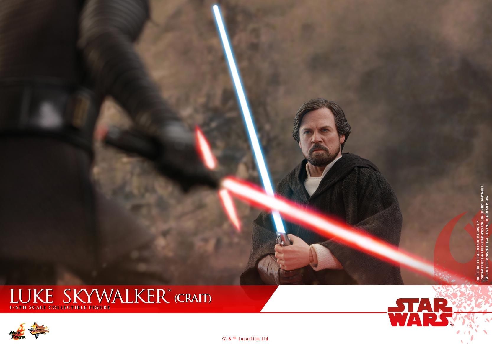 Hot Toys - SWTLJ - Luke Skywalker (Crait) collectible figure_PR (7)