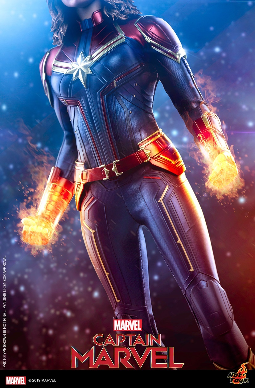 Hot Toys - Captain Marvel Collectible Figure Teaser