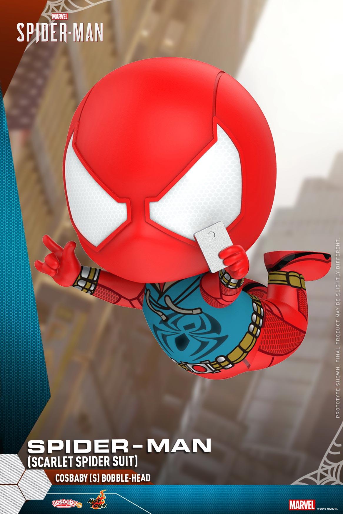 Hot-Toys---Marvel-Spider-Man---Spider-Man-(Scarlet-Spider-Suit)-Cosbaby-(S)_PR2