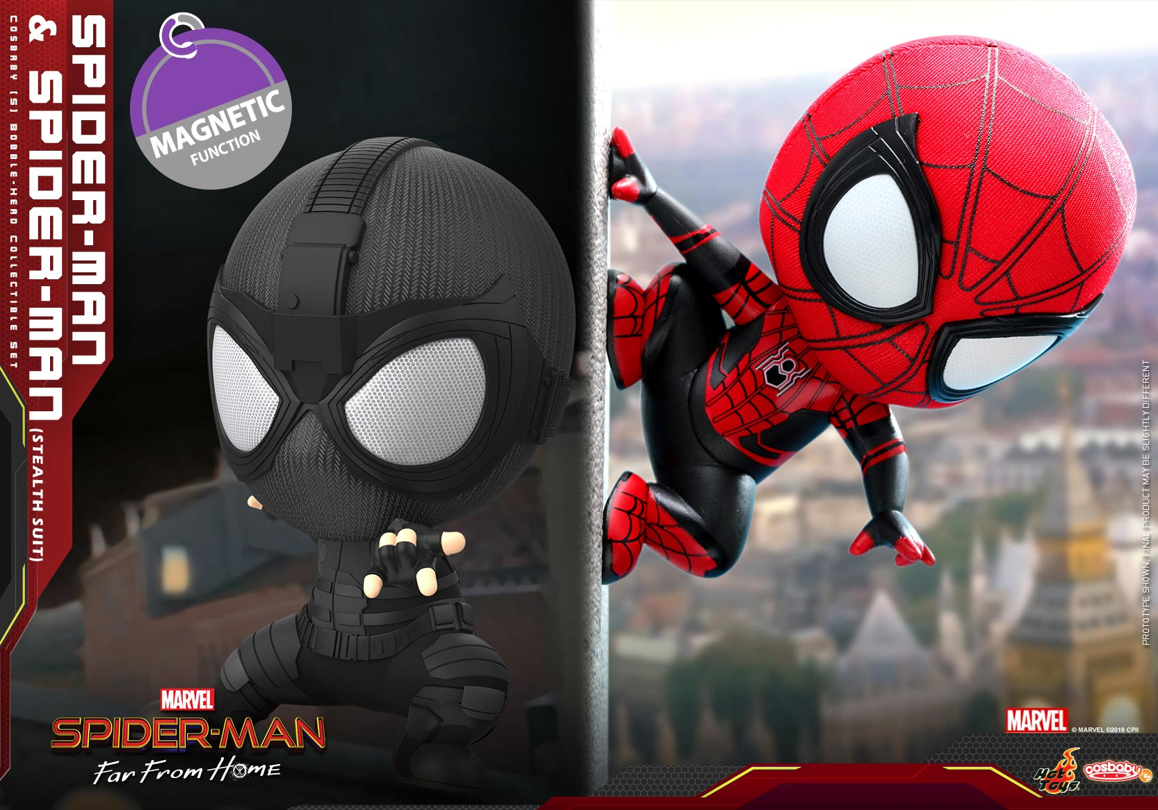 Hot-Toys---SMFFH---Spider-Man-&-Spider-Man-(Stealth-Suit)-Cosbaby-(S)-Set_PR2