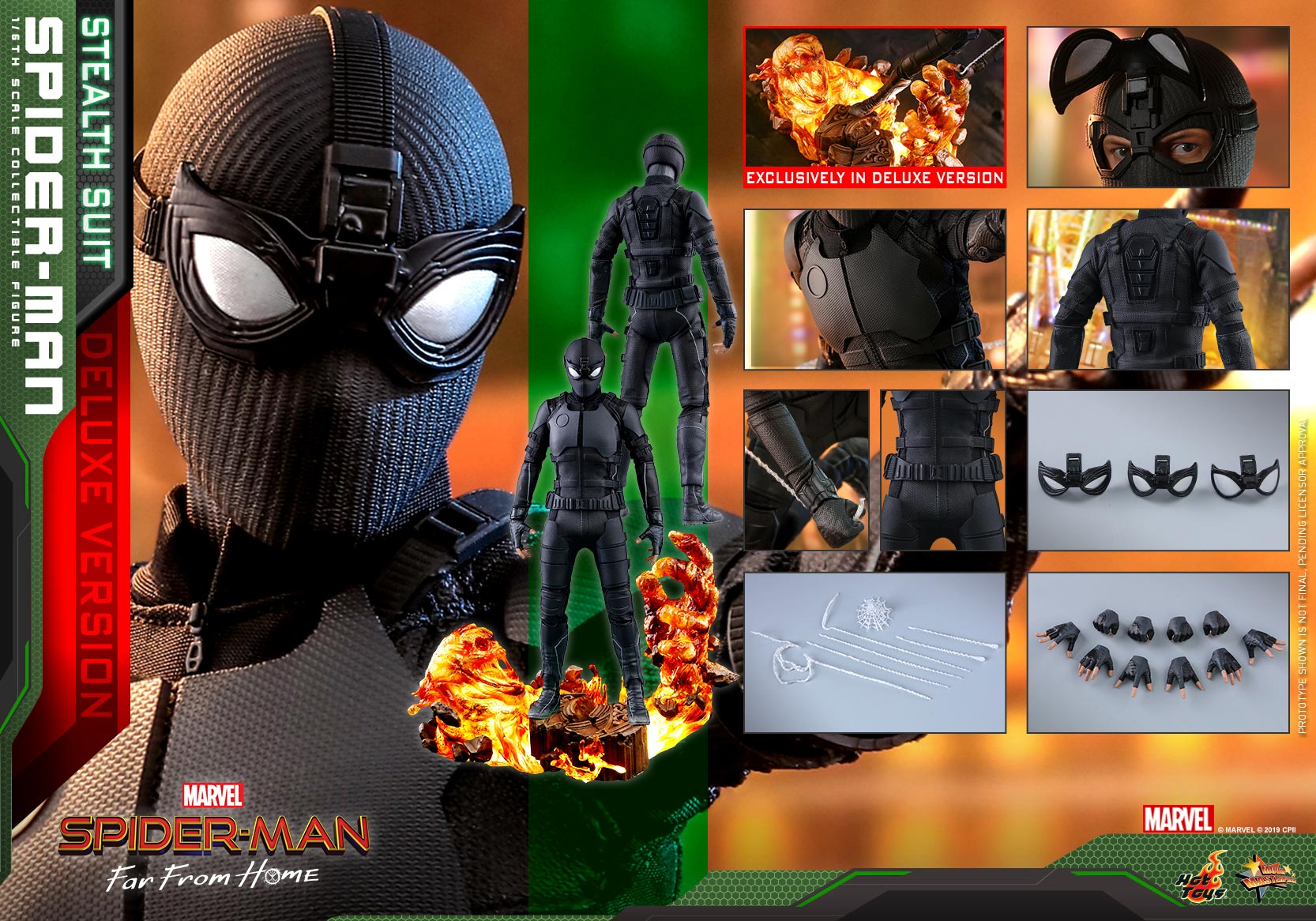 Hot-Toys---SMFFH---Spider-Man-(Stealth-Suit)-collectible-figure-(Deluxe)_PR22