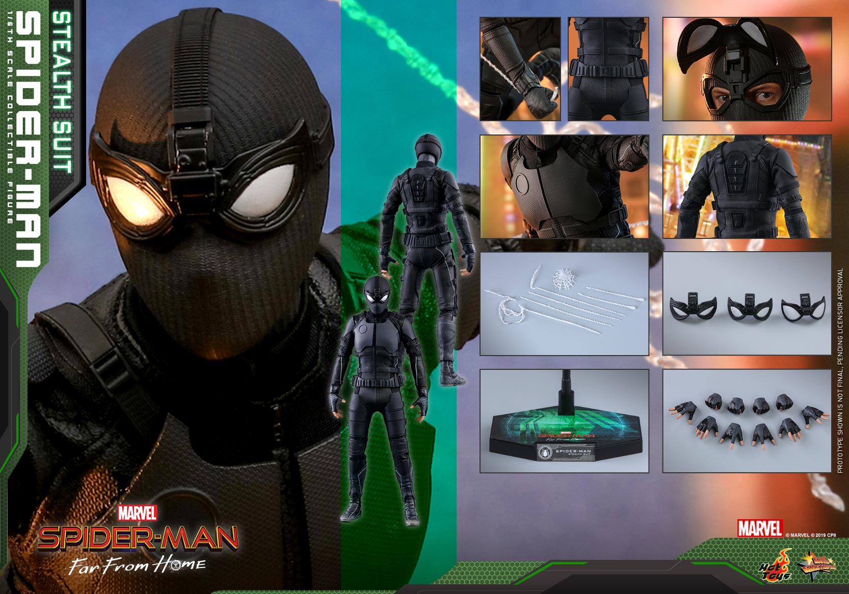 Hot-Toys---SMFFH---Spider-Man-(Stealth-Suit)-collectible-figure_PR13