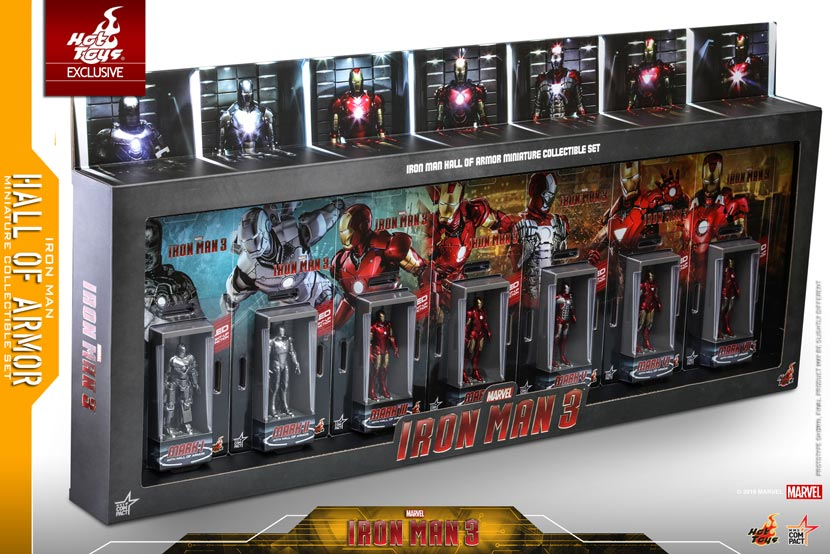 Hot-Toys---Iron-Man-3---Iron-Man-Hall-of-Armor-Miniature-Collectible-Set---PR2
