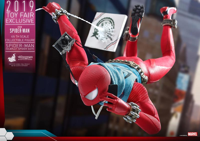 Hot-Toys---Marvel-Spider-Man---Spider-Man-(Scarlet-Spider-Suit)-collectible-figure_PR4
