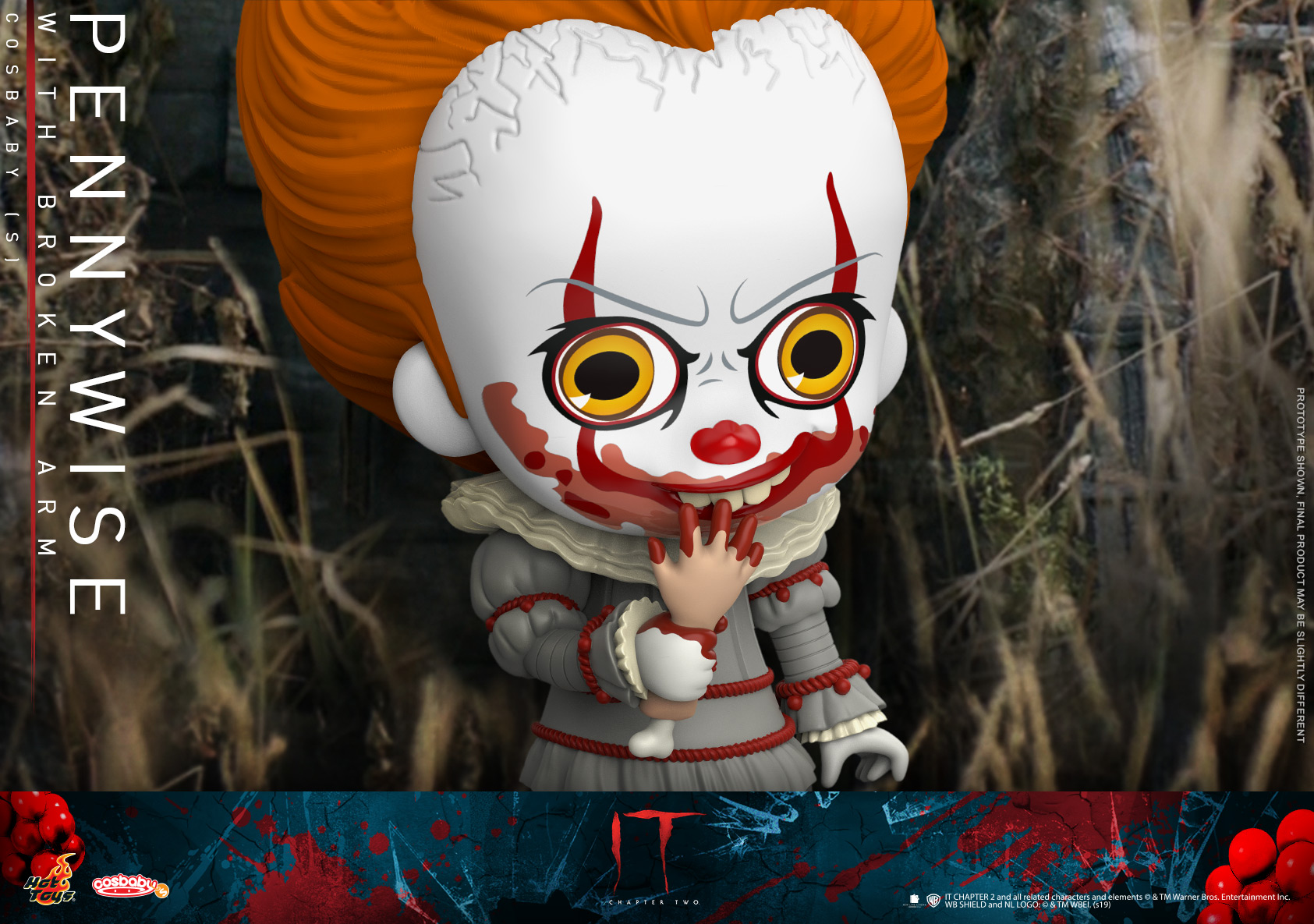 Hot Toys - IT2 - Pennywise With Broken Arm Cosbaby_PR2