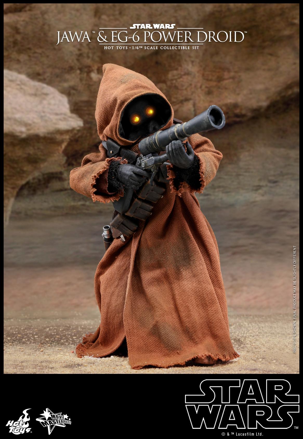 Hot Toys - Star Wars Epi 4 - Jawa & EG-6 Power Droid - PR3
