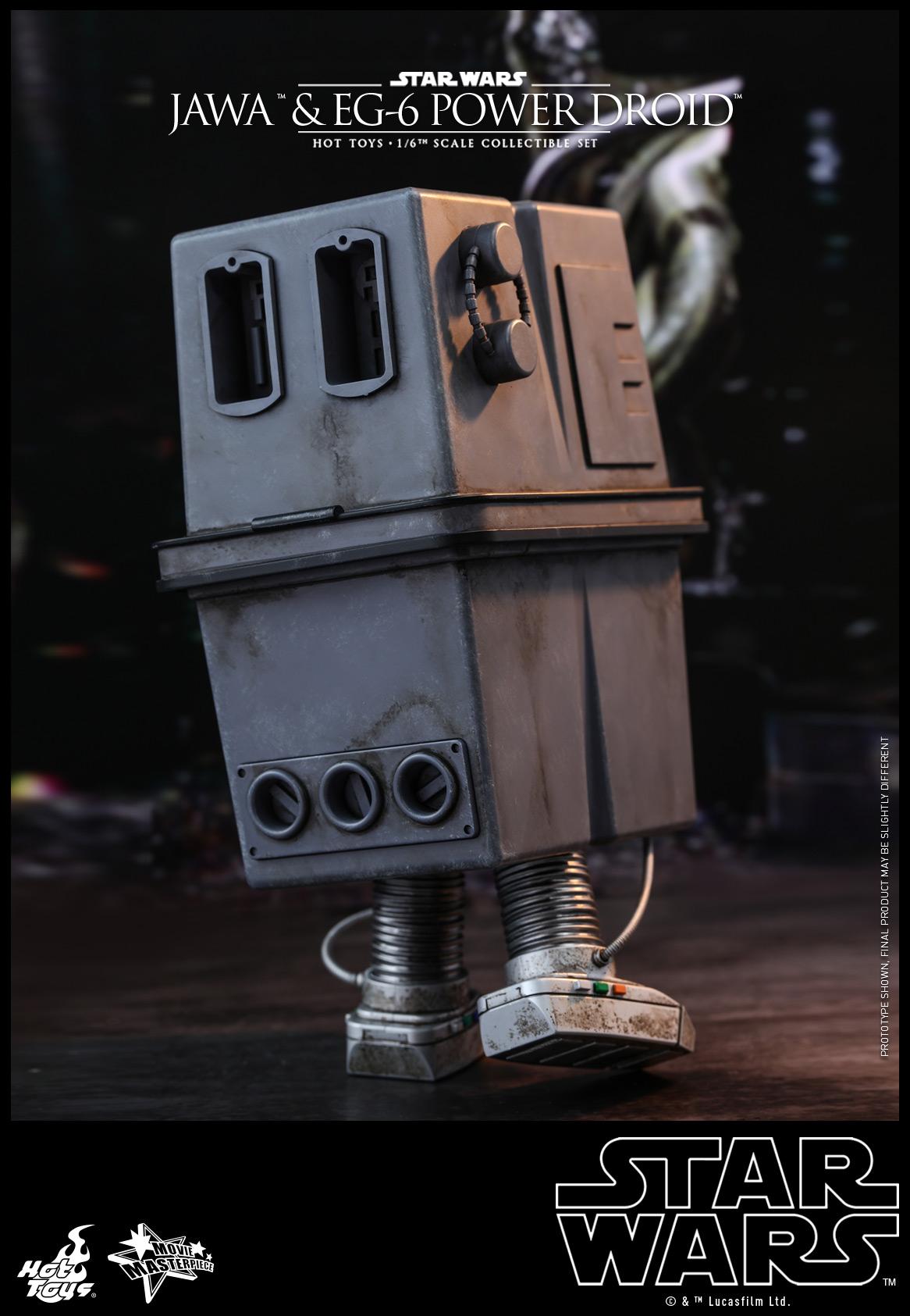 Hot Toys - Star Wars Epi 4 - Jawa & EG-6 Power Droid - PR8