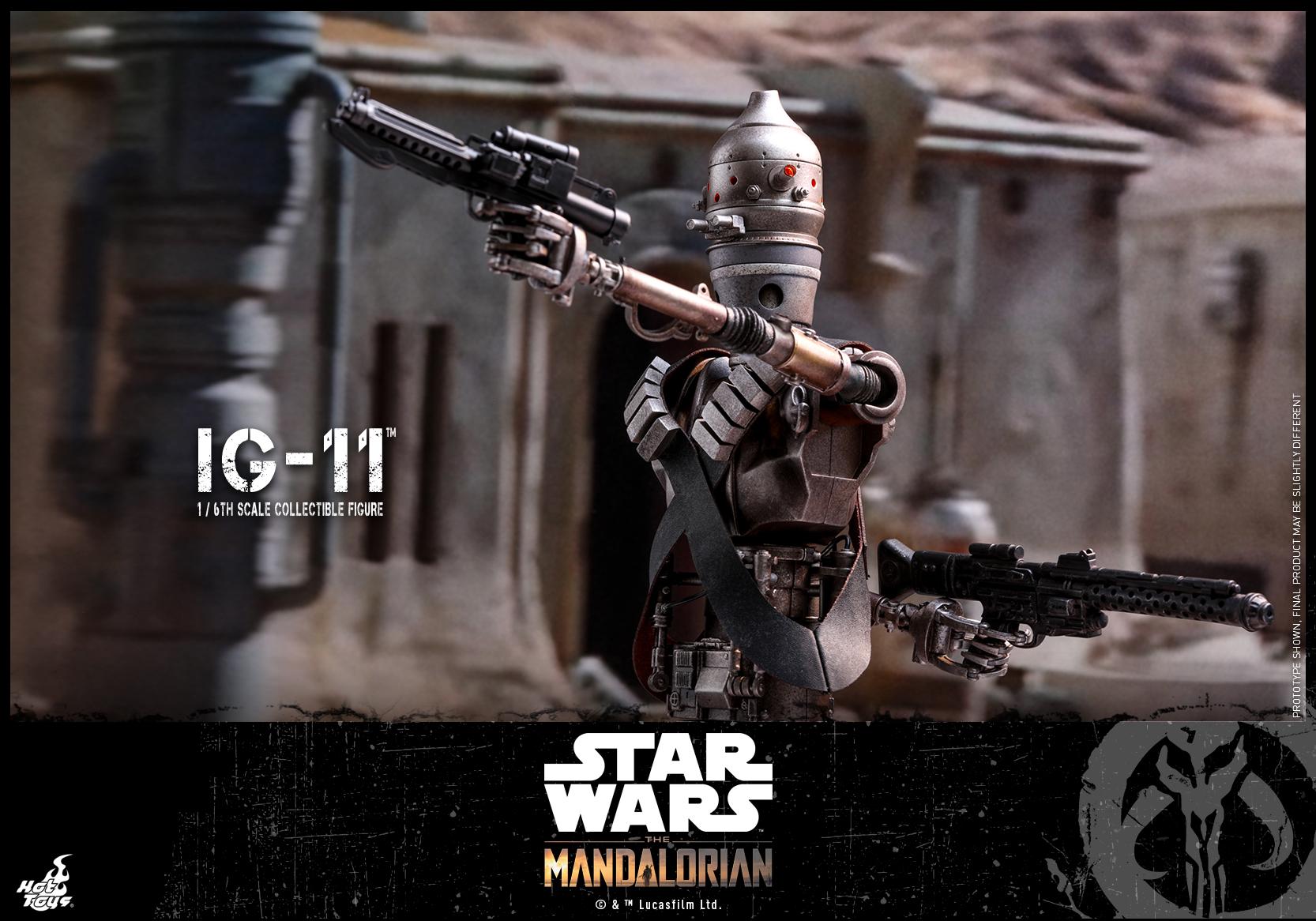 Hot Toys - SW - The Mandalorian - IG-11_PR1