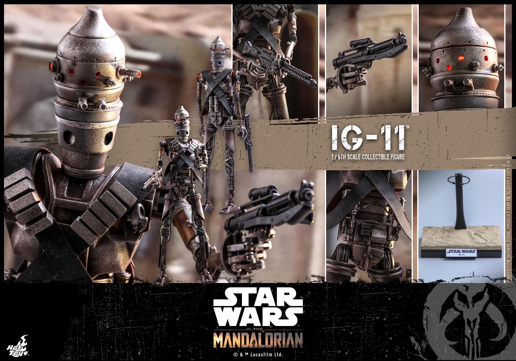 Hot Toys - SW - The Mandalorian - IG-11_PR18