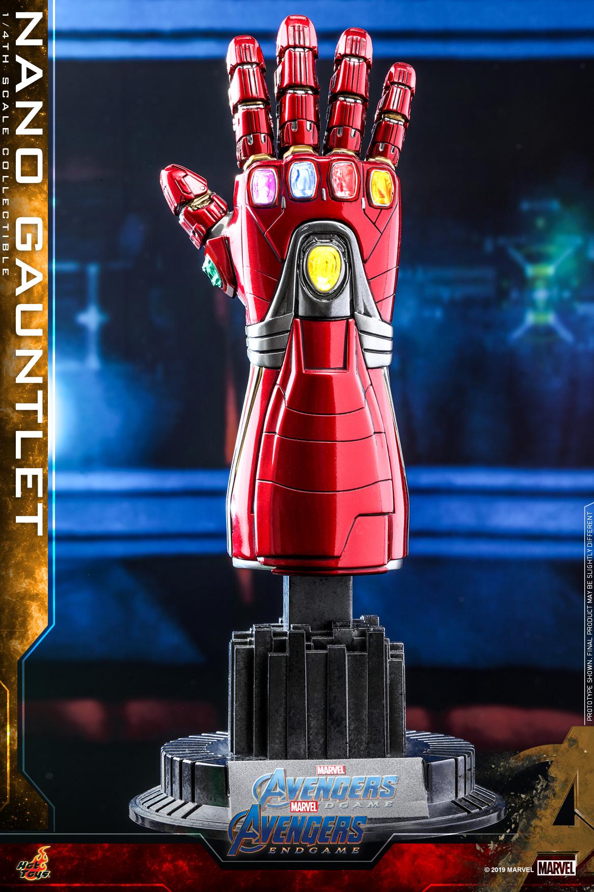 Hot Toys - A4 - Nano Gauntlet collectible_PR1