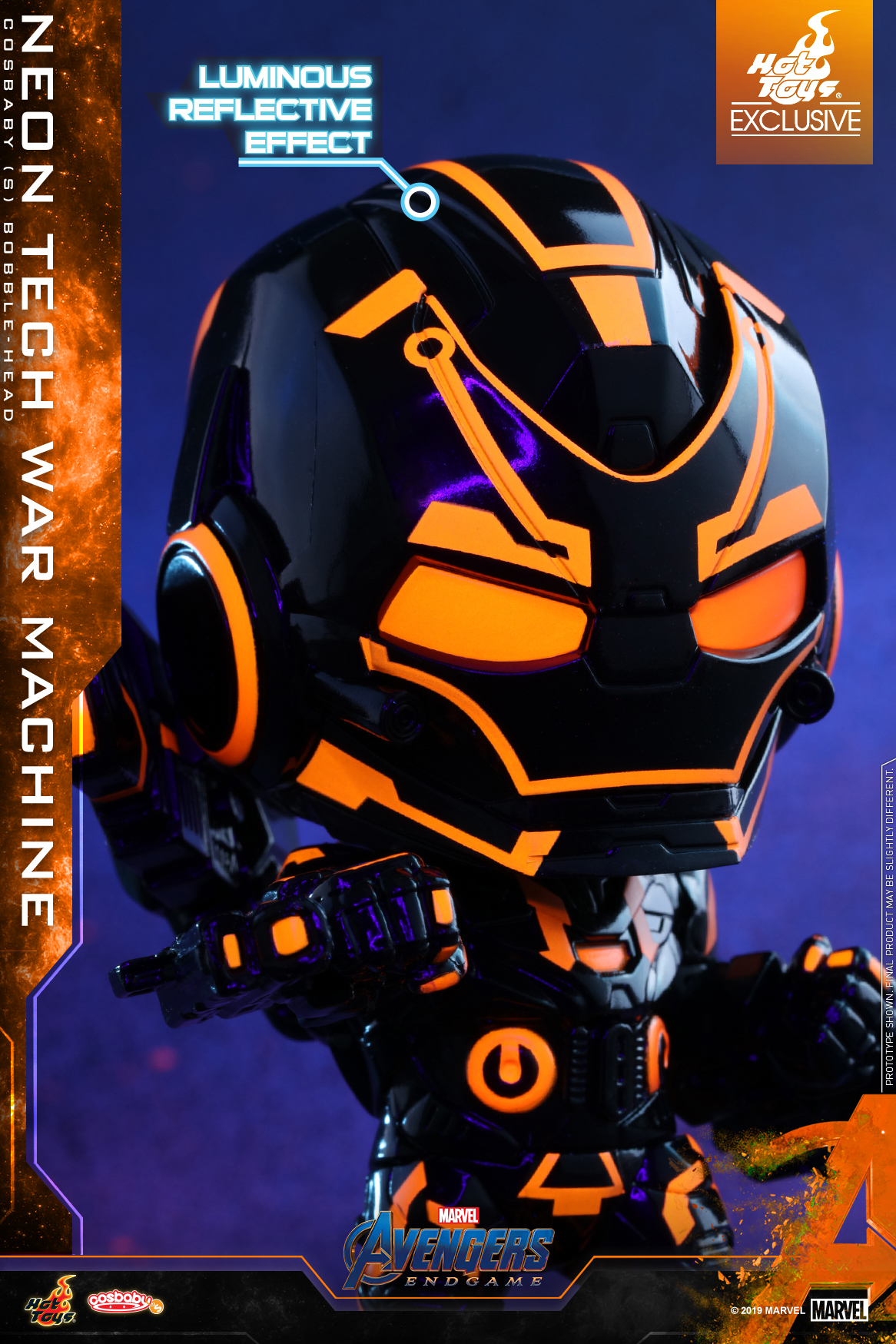 Hot Toys - A4 - Neon Tech War Machine COSBABY_PR2