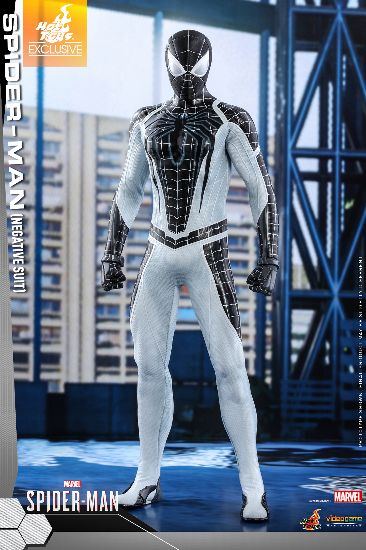 Hot Toys - Marvel Spider-Man - Spider-Man (Negative Suit) collectible figure_PR1