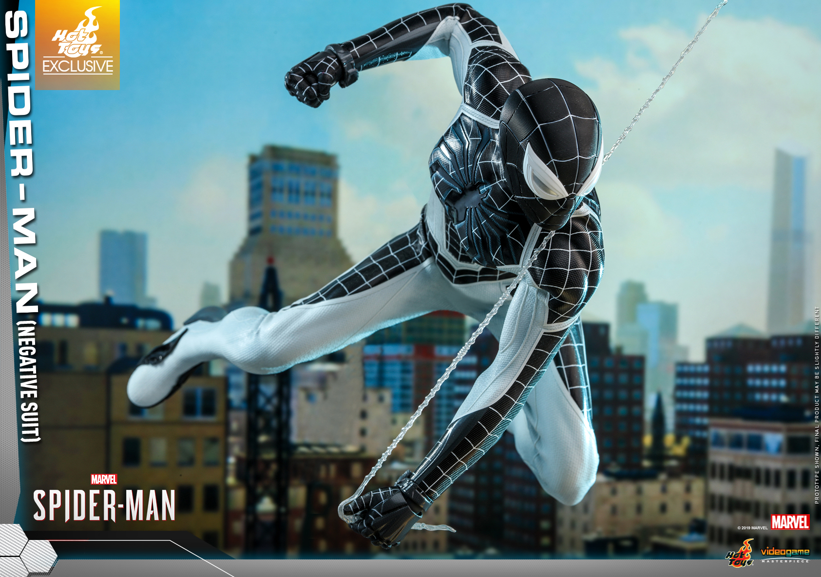 Hot Toys - Marvel Spider-Man - Spider-Man (Negative Suit) collectible figure_PR7