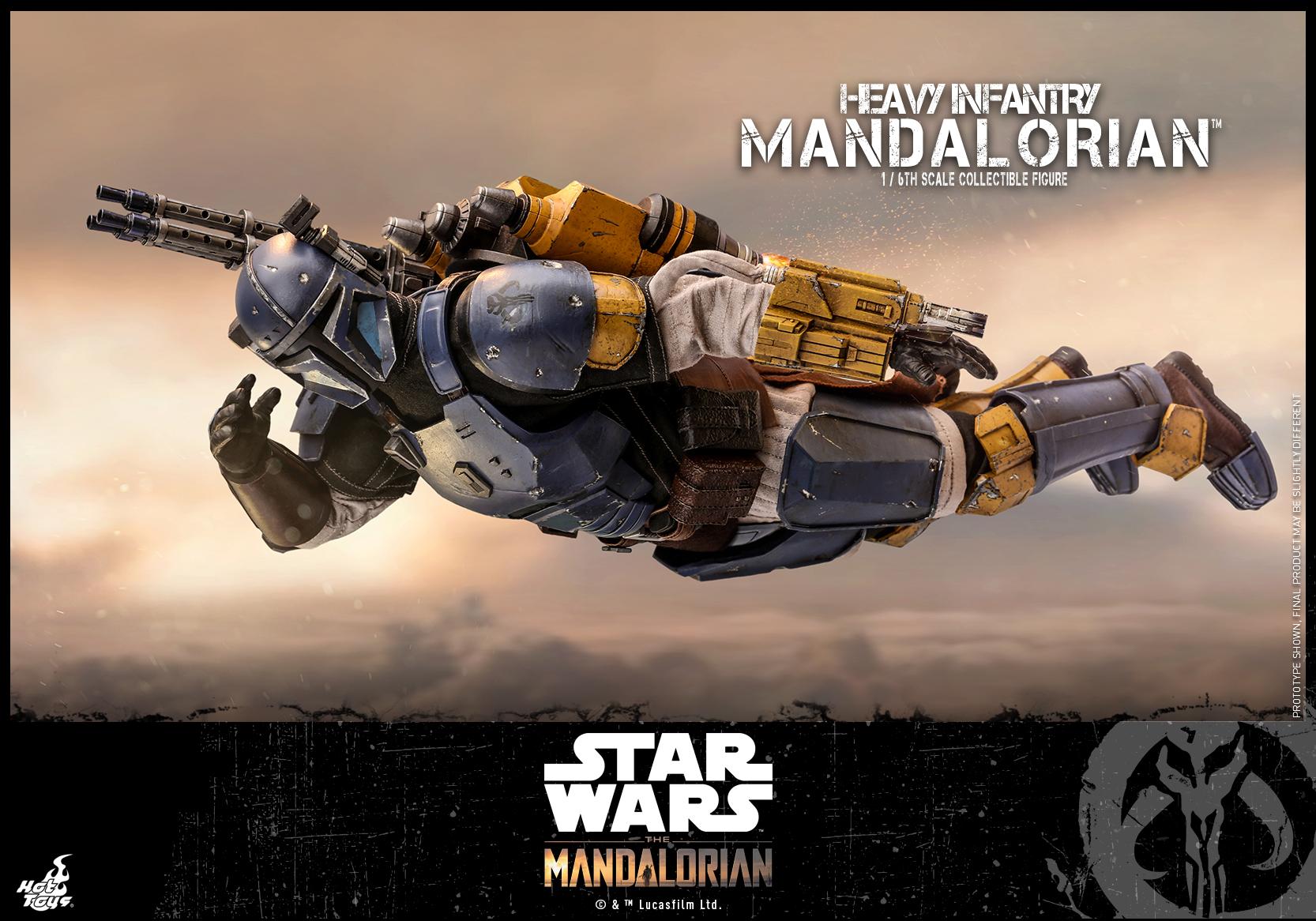 Hot Toys - SW The Mandalorian - Heavy Infantry Mandalorian_PR18