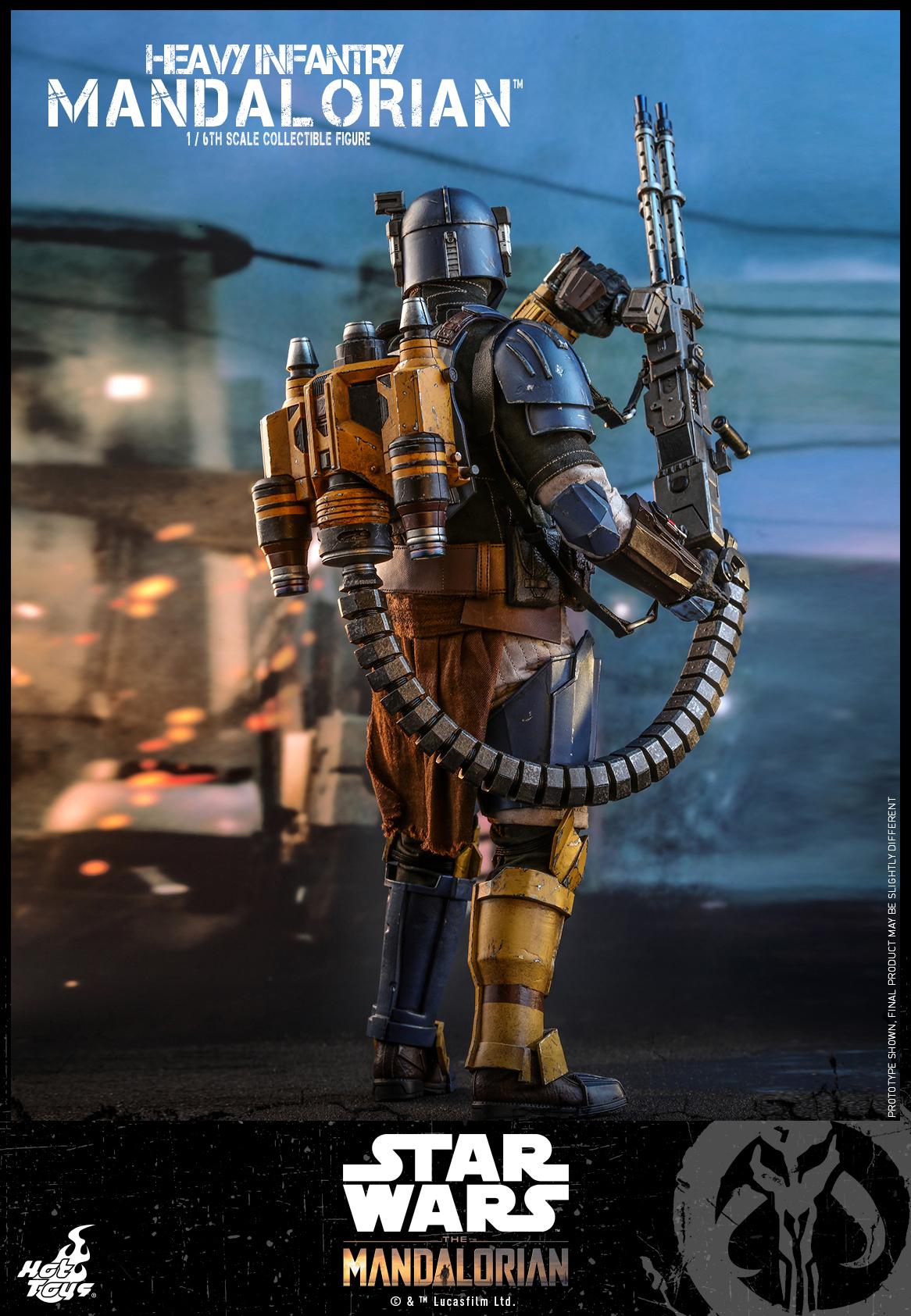Hot Toys - SW The Mandalorian - Heavy Infantry Mandalorian_PR3