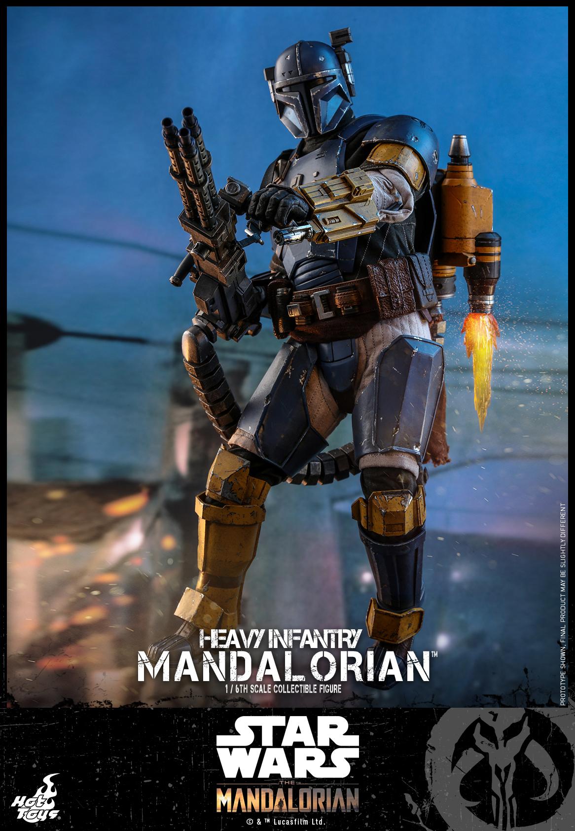 Hot Toys - SW The Mandalorian - Heavy Infantry Mandalorian_PR6