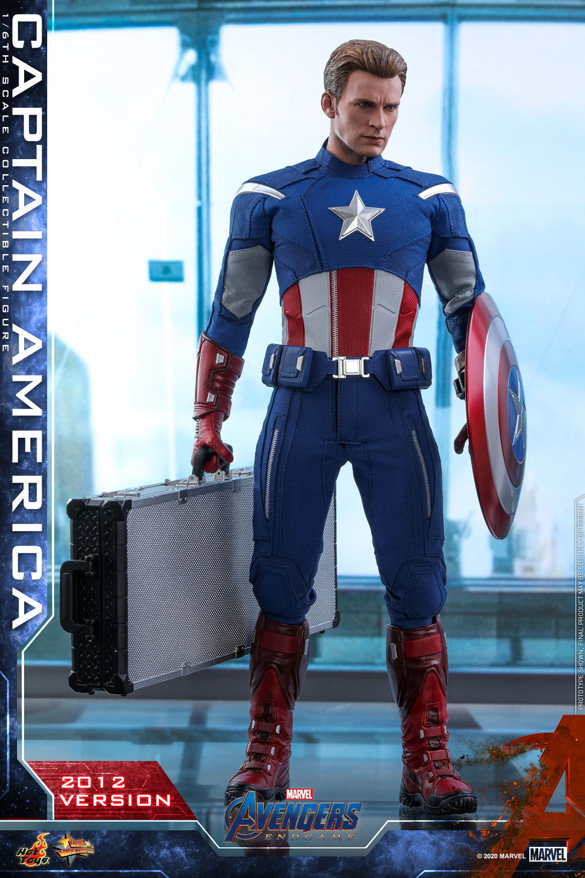 Hot Toys - A4 - Captain America (2012 Version) Collectible Figure_PR1