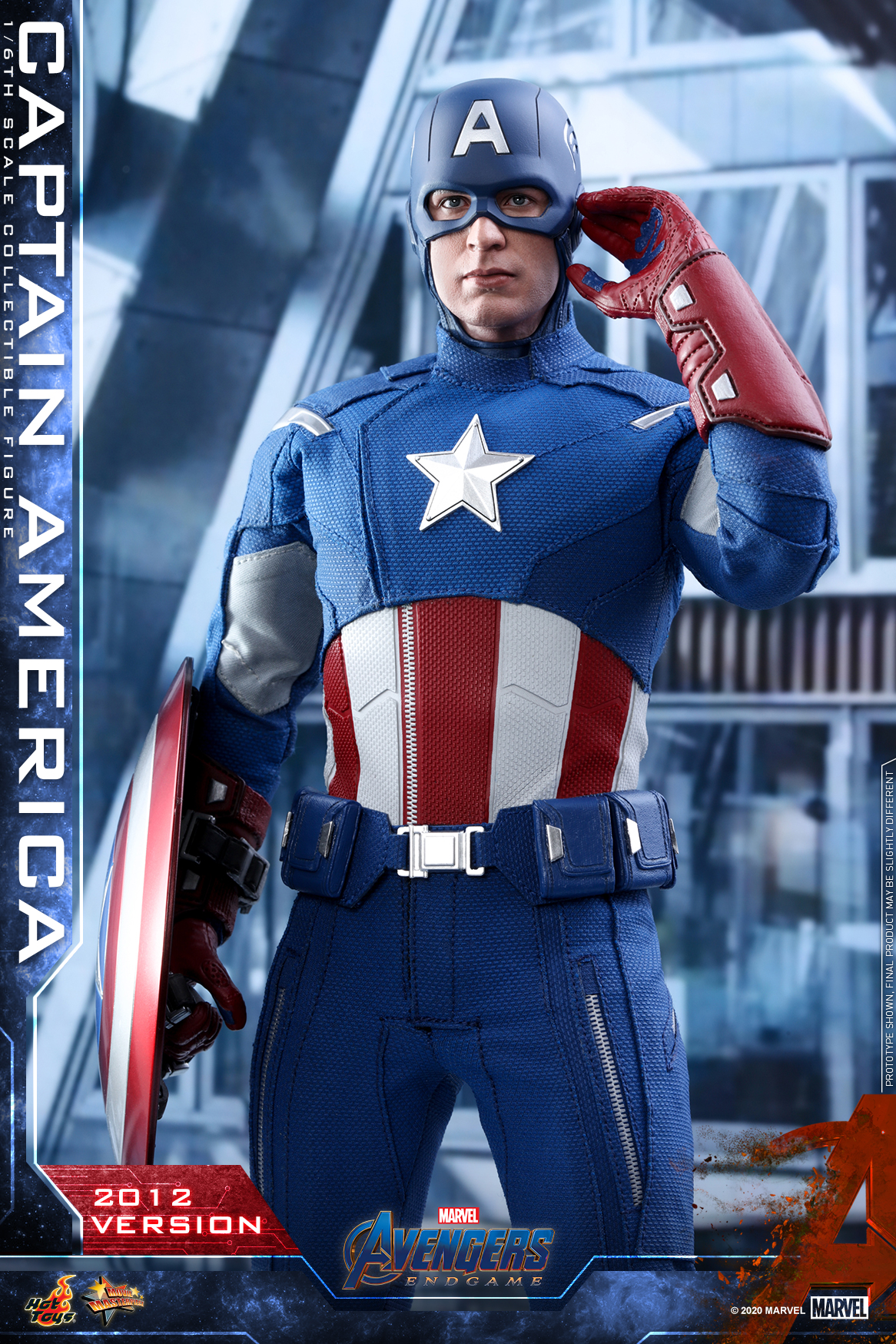 Hot Toys - A4 - Captain America (2012 Version) Collectible Figure_PR17