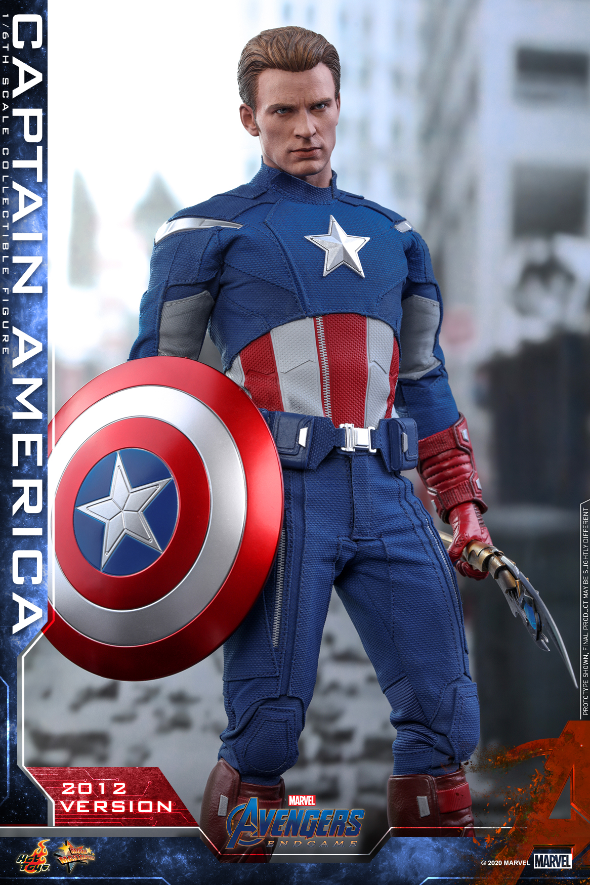Hot Toys - A4 - Captain America (2012 Version) Collectible Figure_PR20