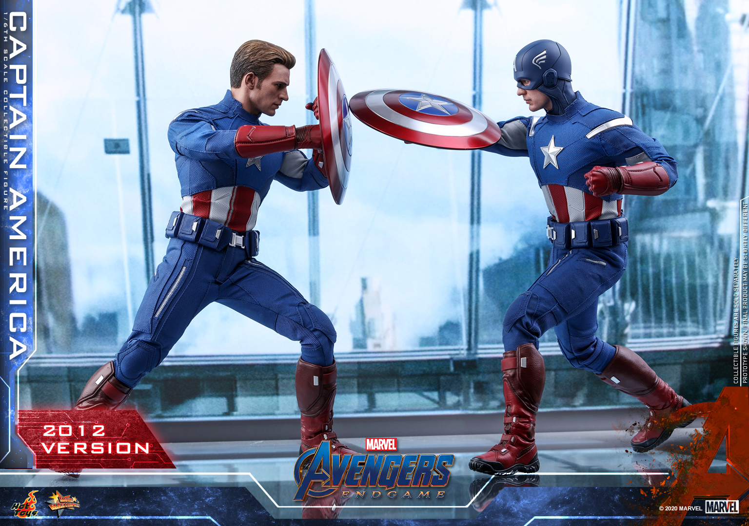Hot Toys - A4 - Captain America (2012 Version) Collectible Figure_PR5