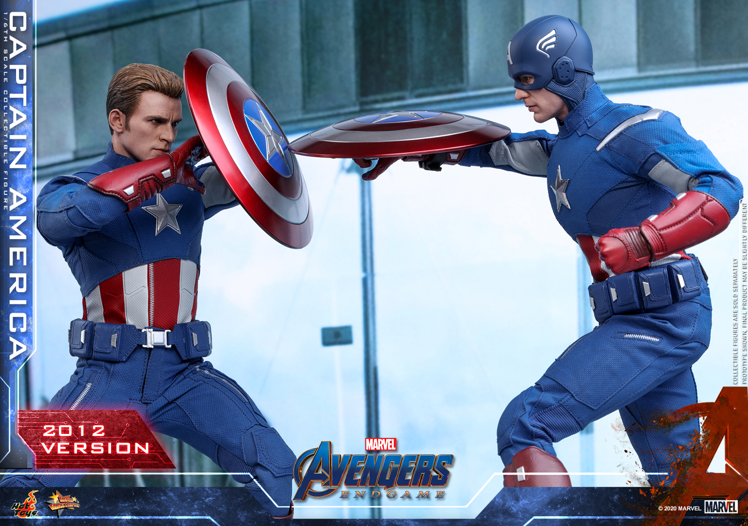 Hot Toys - A4 - Captain America (2012 Version) Collectible Figure_PR9