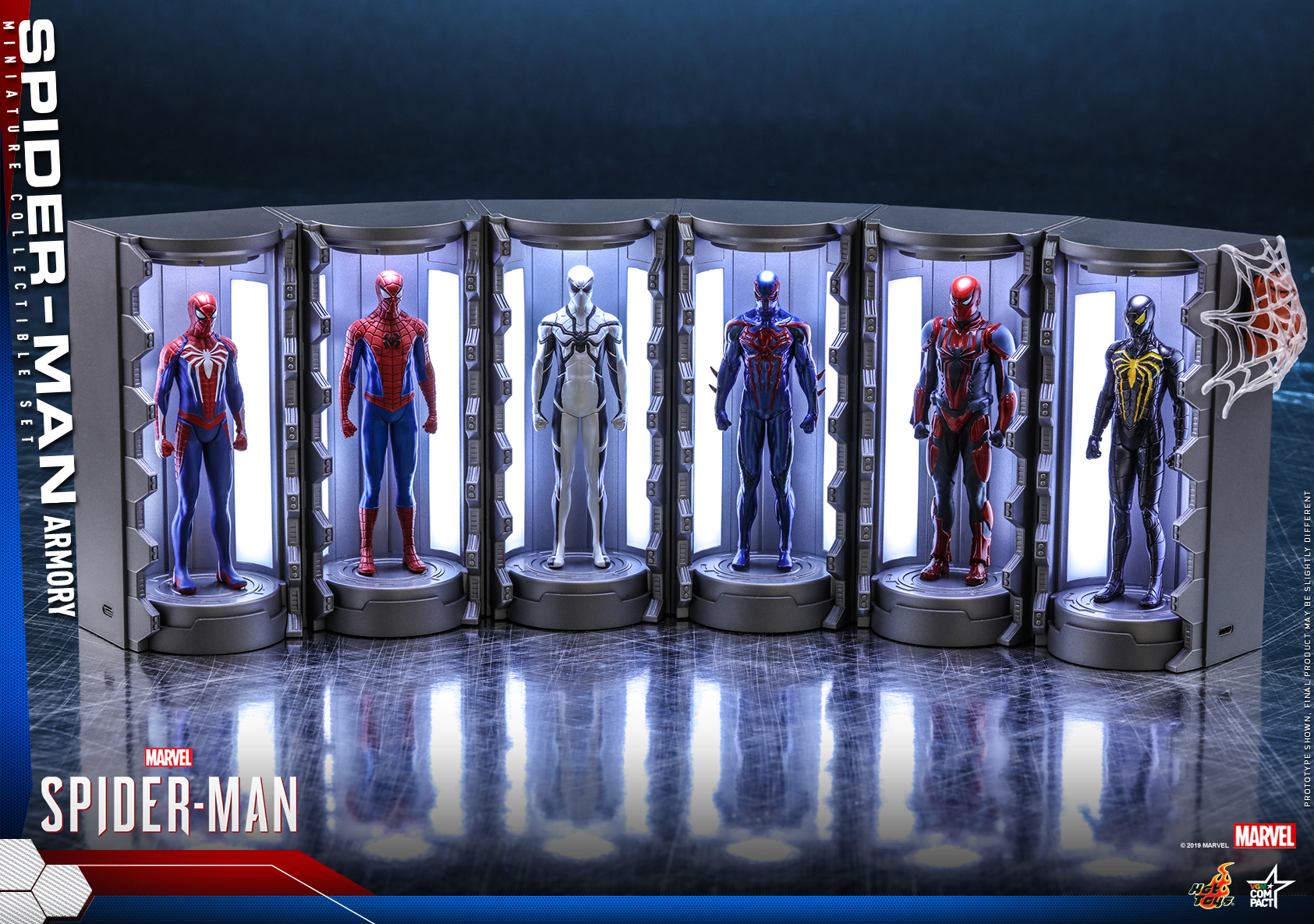 Hot Toys - SM - Spider-Man Armory Miniature Collectible Set_PR5