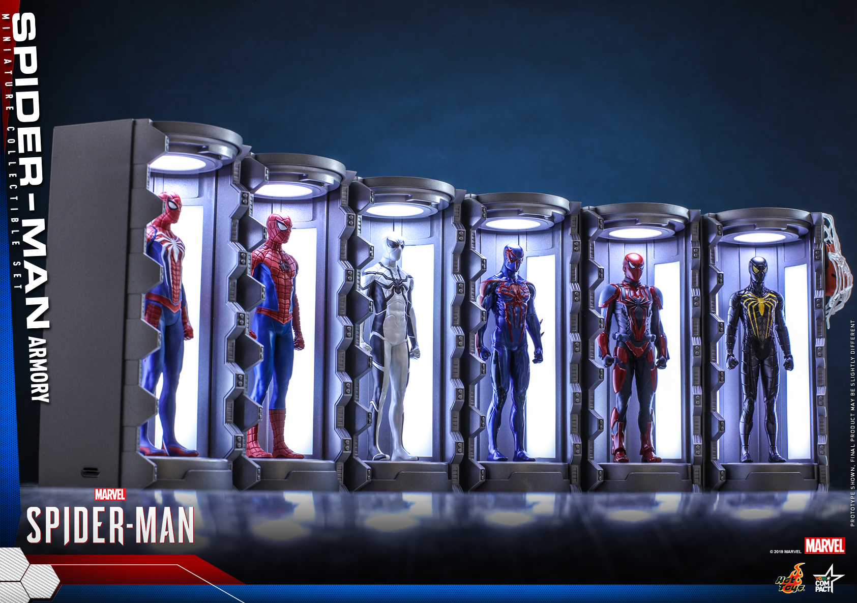 Hot Toys - SM - Spider-Man Armory Miniature Collectible Set_PR6