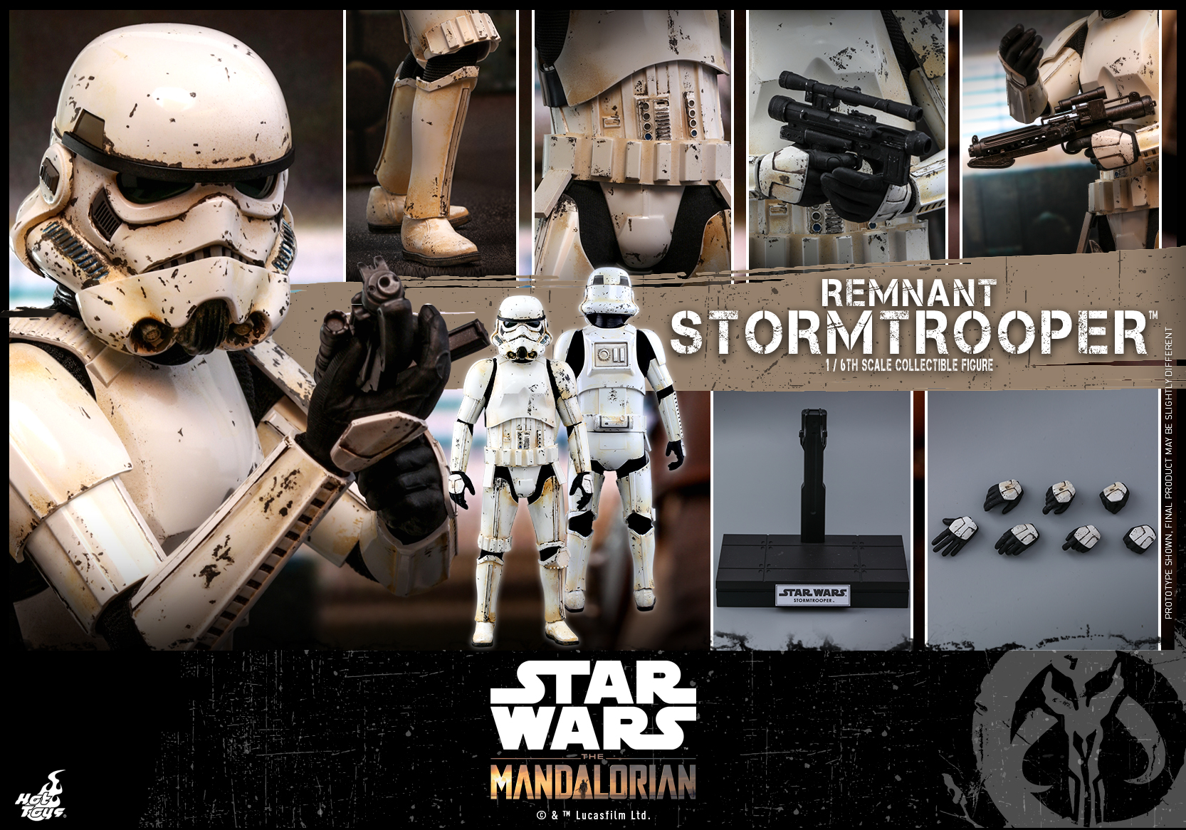 Hot Toys - SWM - Remnant Stormtrooper collectible figure_PR14