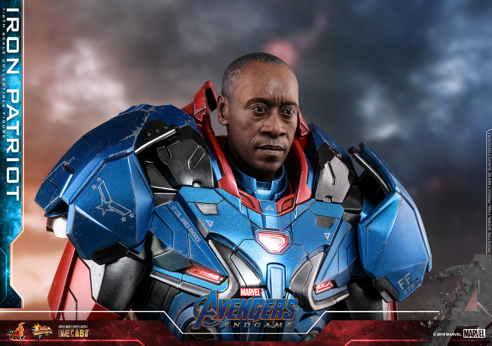 [Update] Hot Toys - Avengers 4 - Iron Patriot collectible figure_PR1