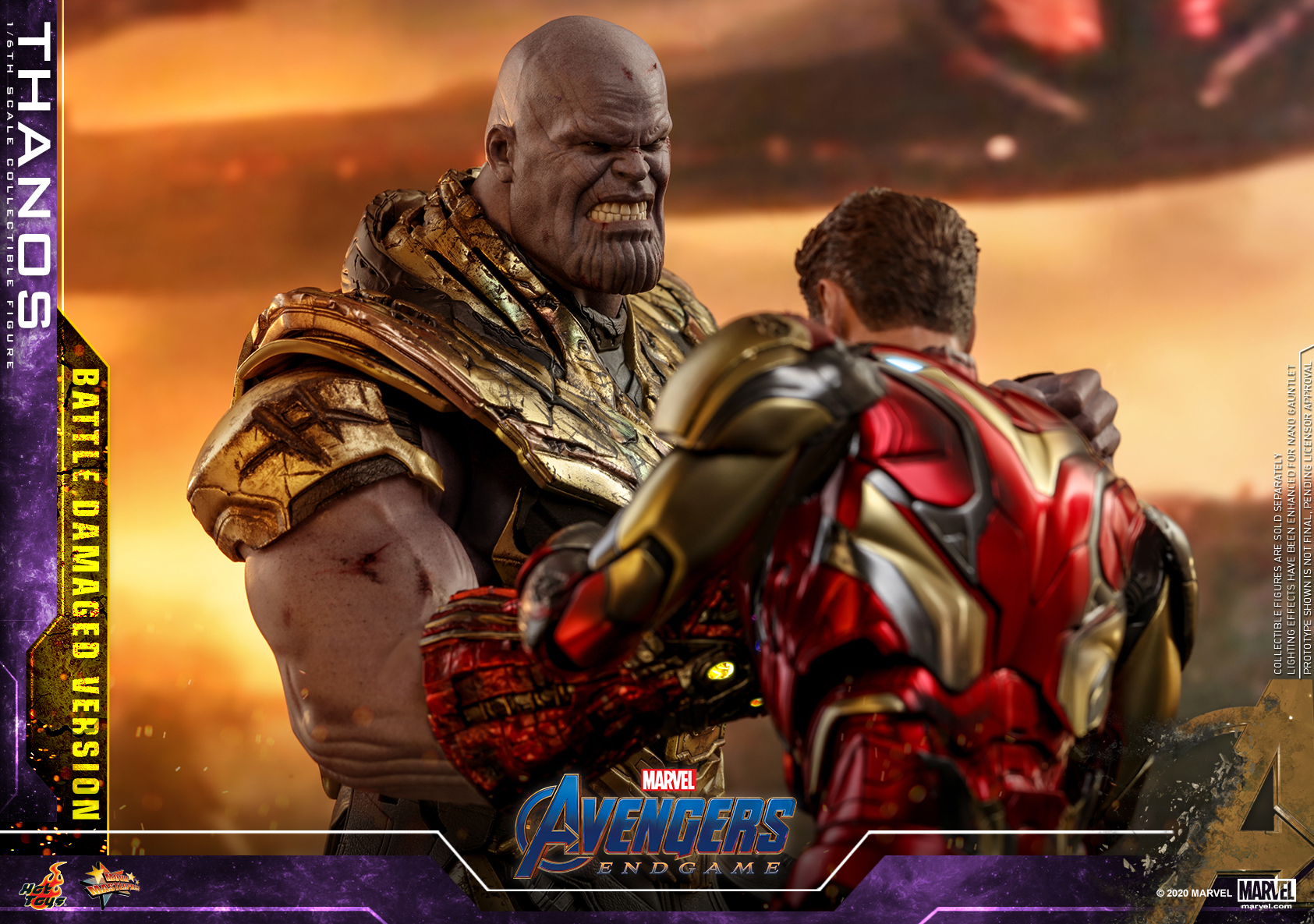 Hot Toys - A4 - Thanos (Battle Damaged Version) Collectible Figure_PR12