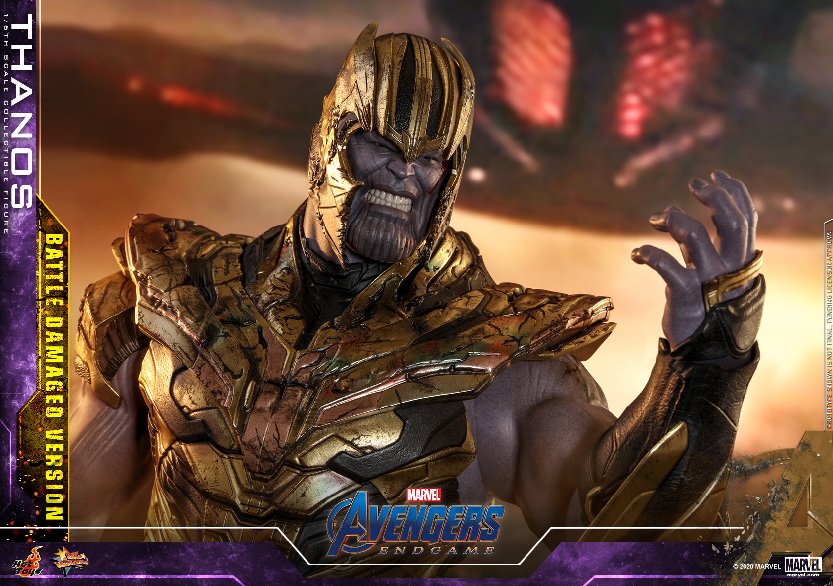 Hot Toys - A4 - Thanos (Battle Damaged Version) Collectible Figure_PR18
