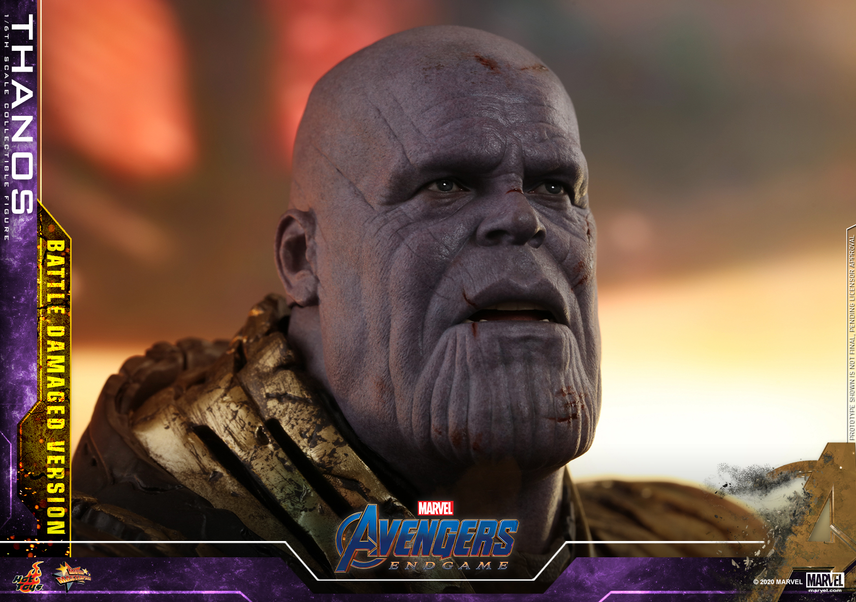 Hot Toys - A4 - Thanos (Battle Damaged Version) Collectible Figure_PR20