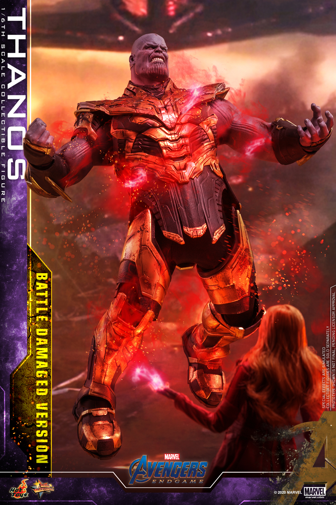 Hot Toys - A4 - Thanos (Battle Damaged Version) Collectible Figure_PR4