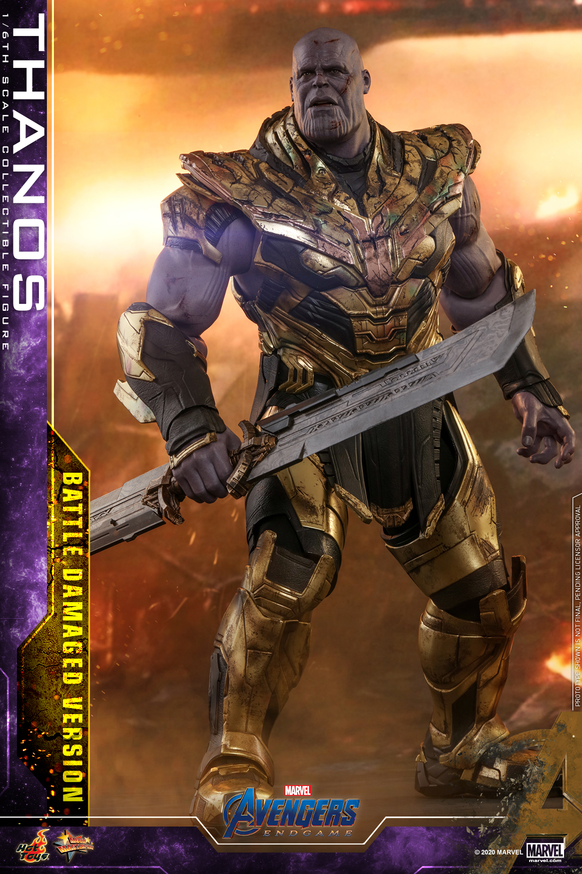 Hot Toys - A4 - Thanos (Battle Damaged Version) Collectible Figure_PR5